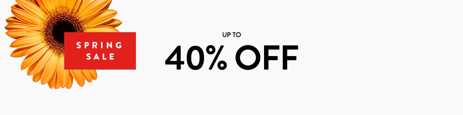 Spring Sale: up to 40% off. Free shipping. Free returns. All the time.