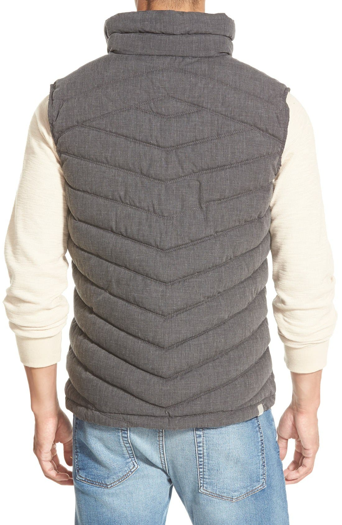 BENCH.,                             Bench Regular Fit Quilted Vest,                             Alternate thumbnail 4, color,                             001