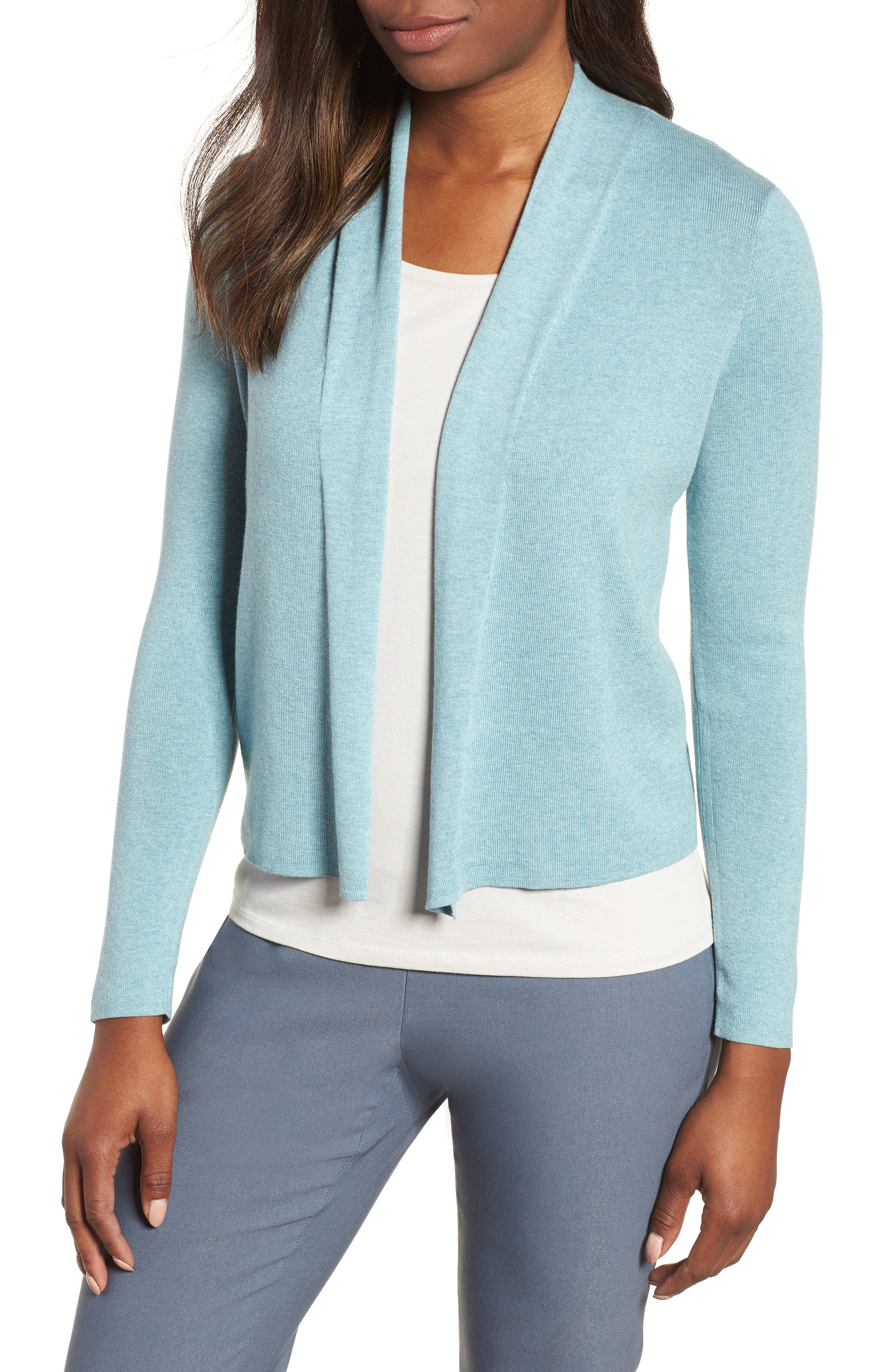 Vibrant Open Front Cardigan,                         Main,                         color, 454