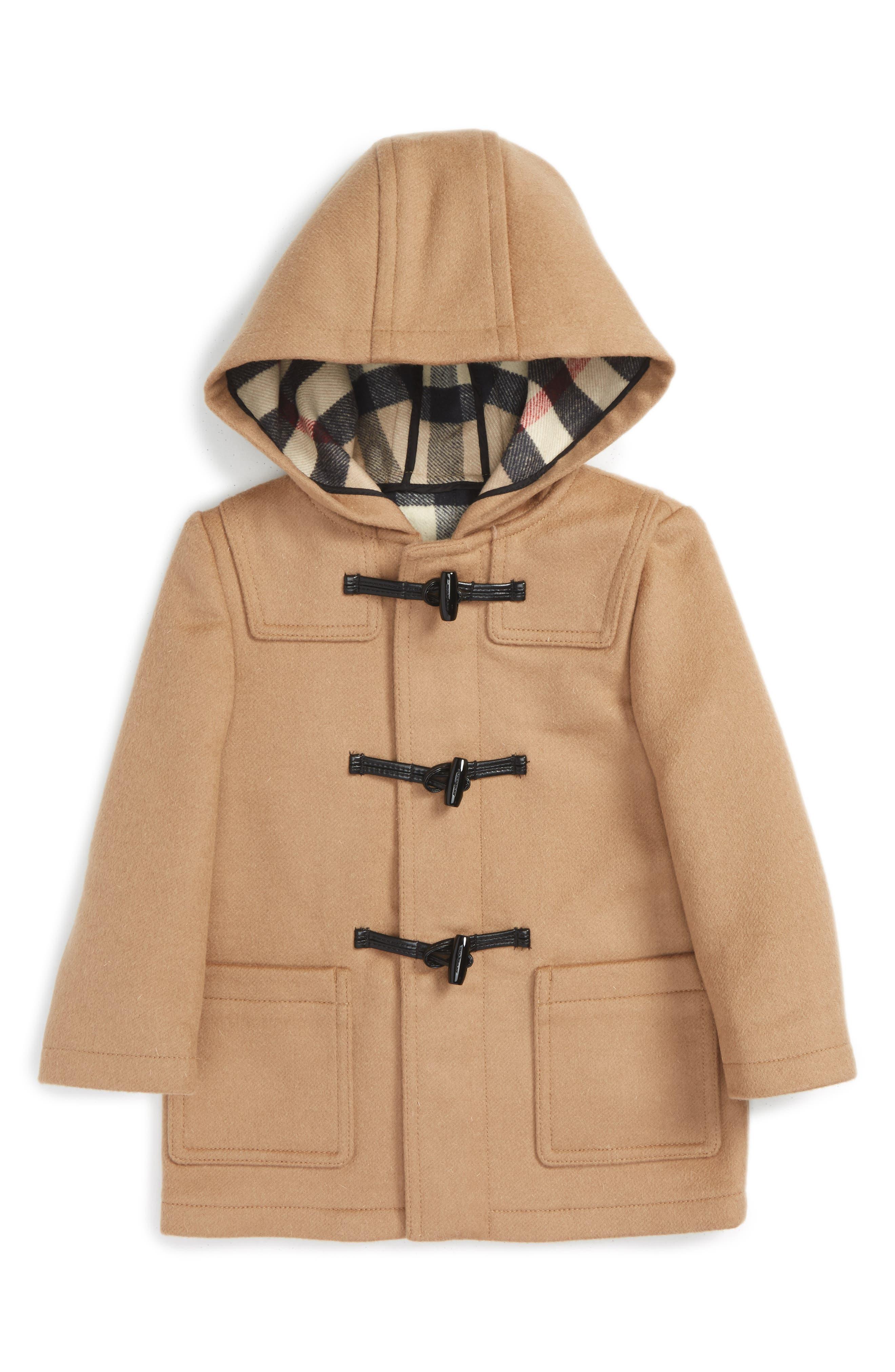 'Brogan' Hooded Wool Toggle Coat,                         Main,                         color, 250
