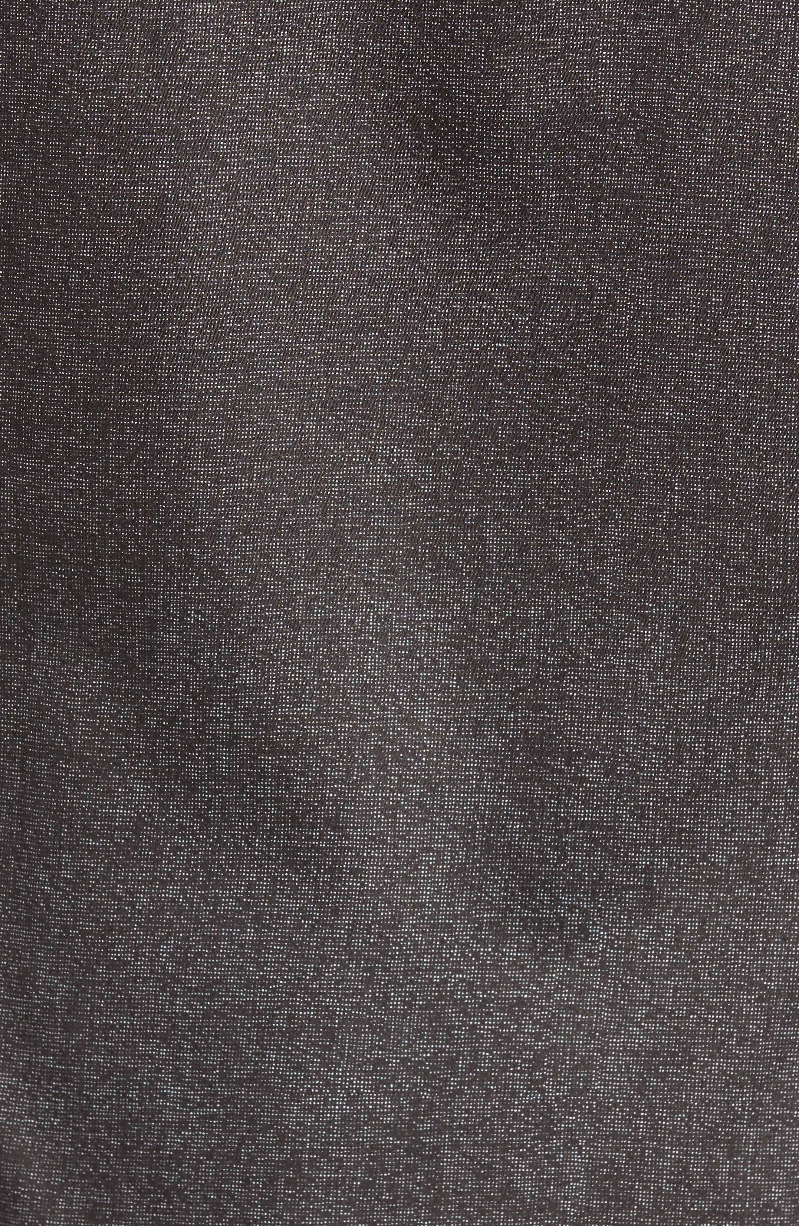 Norbor Modern Slim Fit Microdot Print Sport Shirt,                             Alternate thumbnail 5, color,                             001