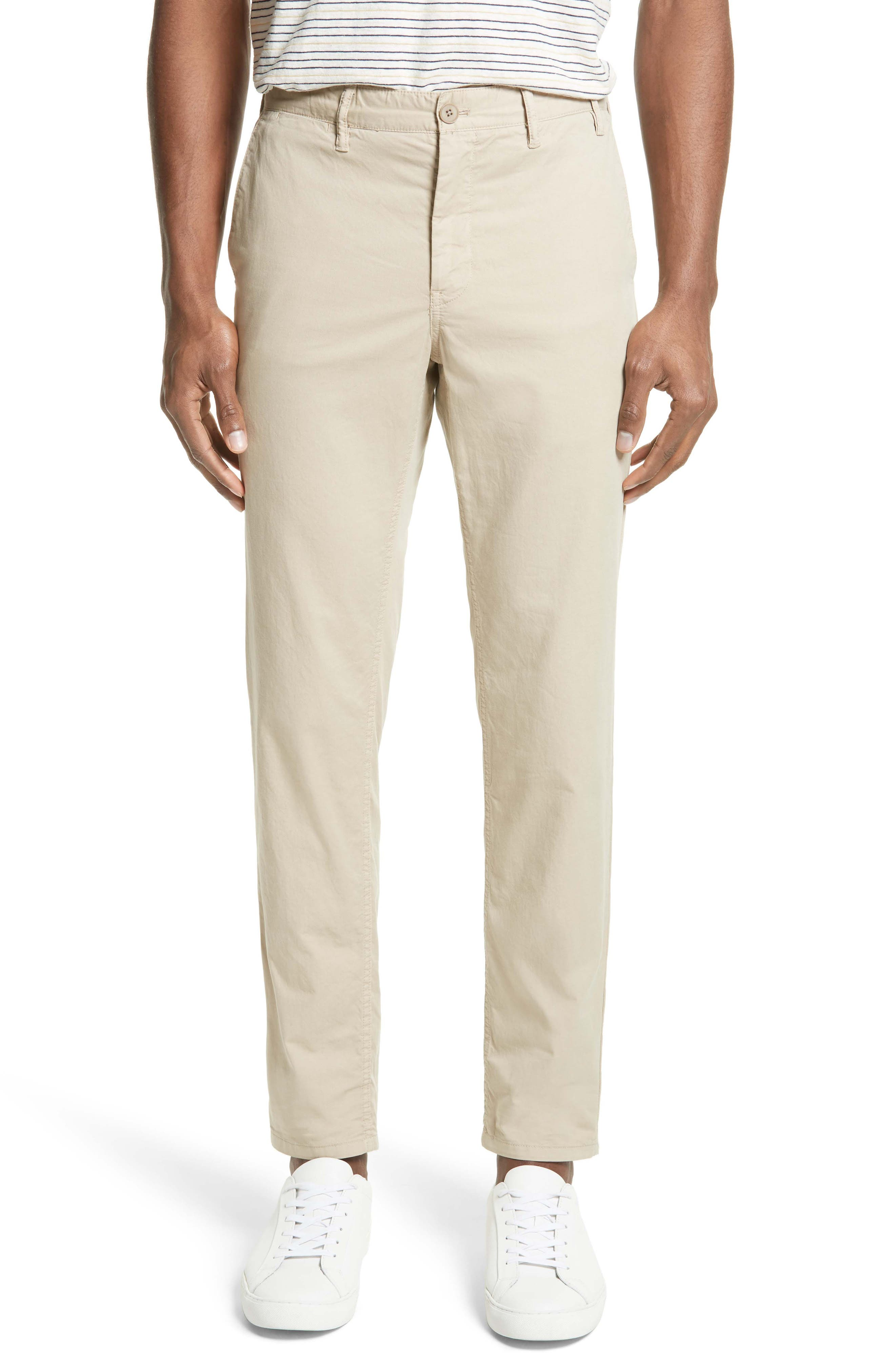 Slim Fit Cotton Twill Chinos,                             Main thumbnail 1, color,                             250