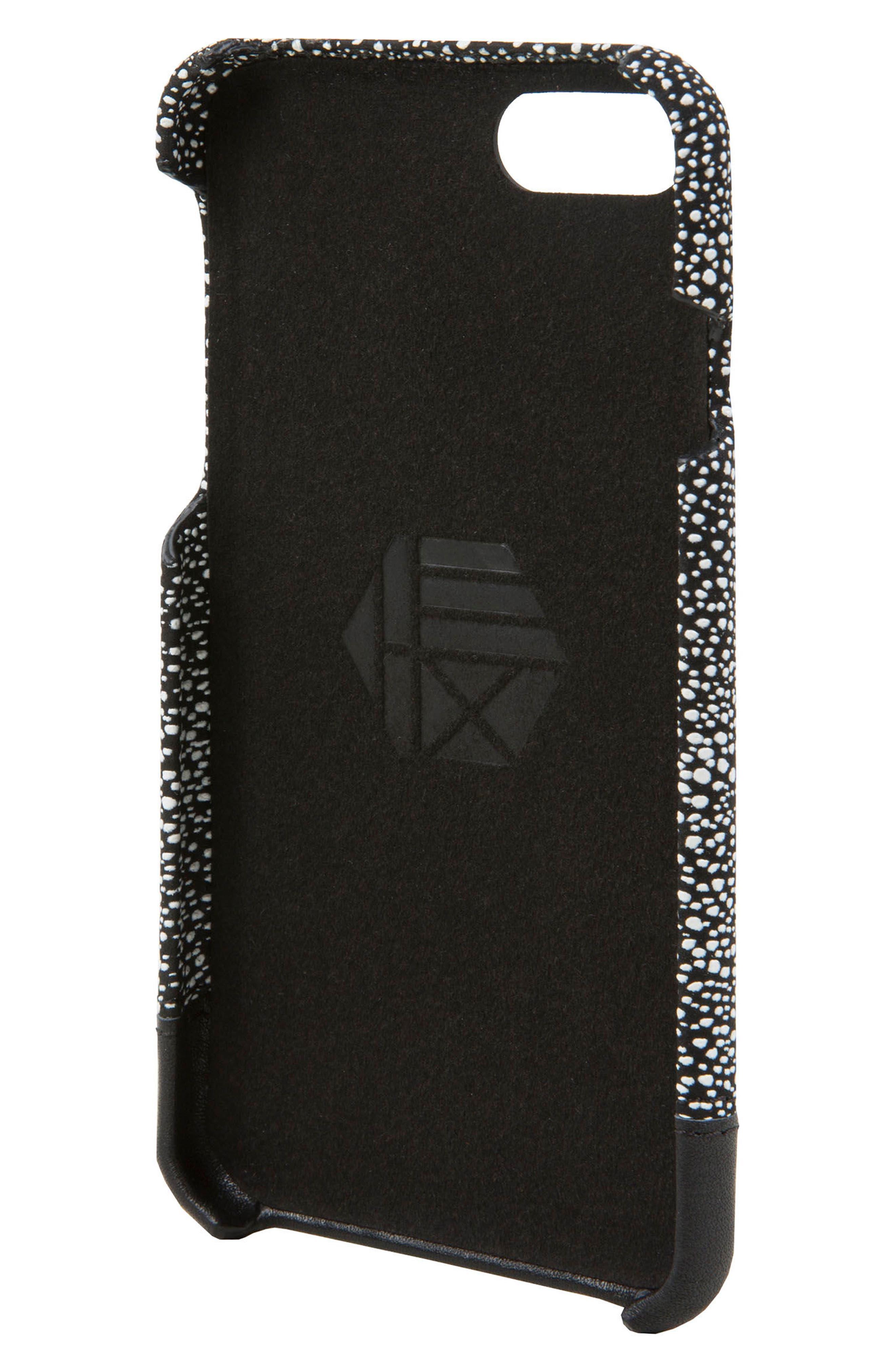 Focus Leather iPhone 6/6s/7/8 Case,                             Alternate thumbnail 3, color,                             004