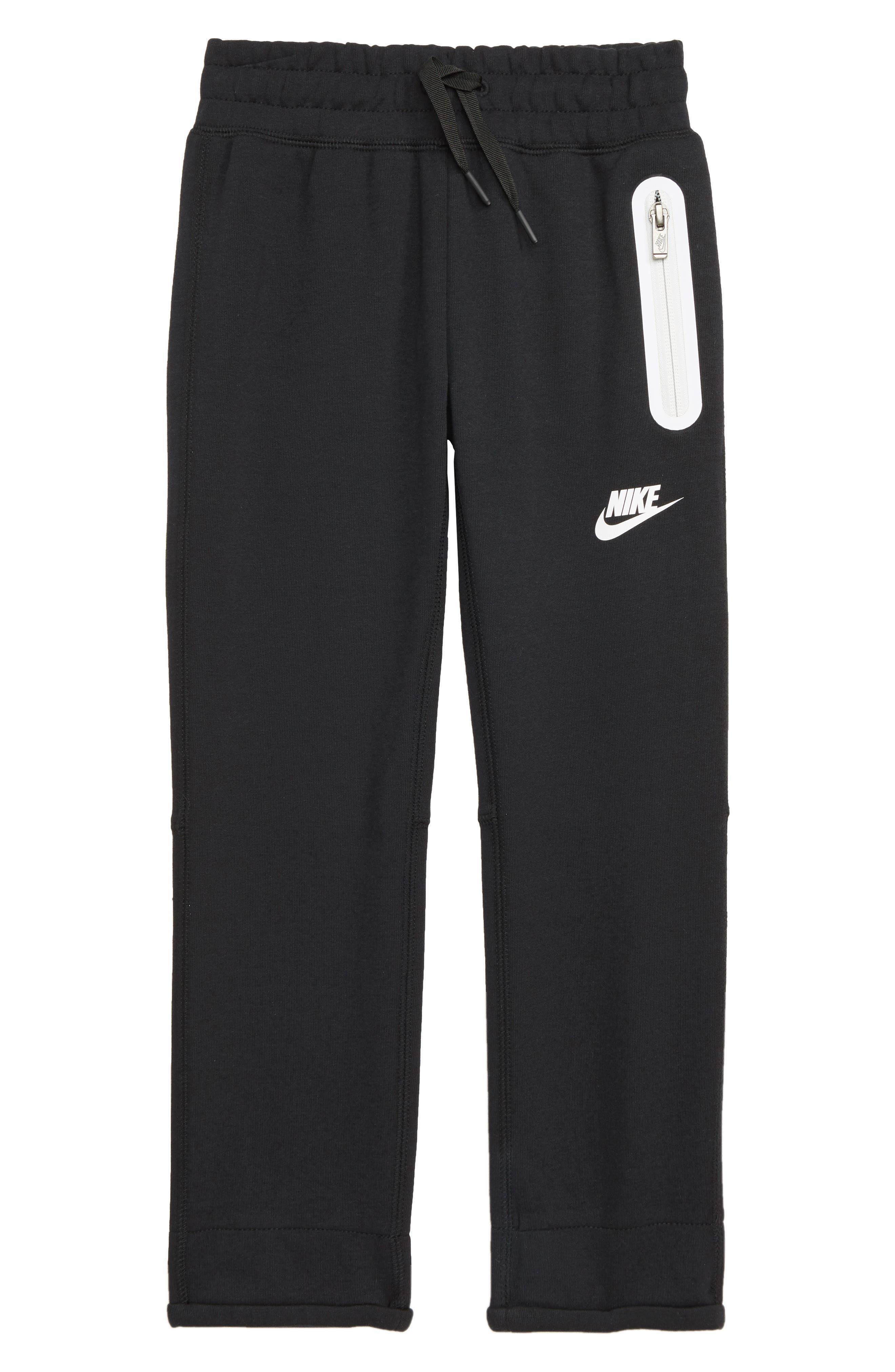 Tech Fleece Pants,                         Main,                         color, BLACK