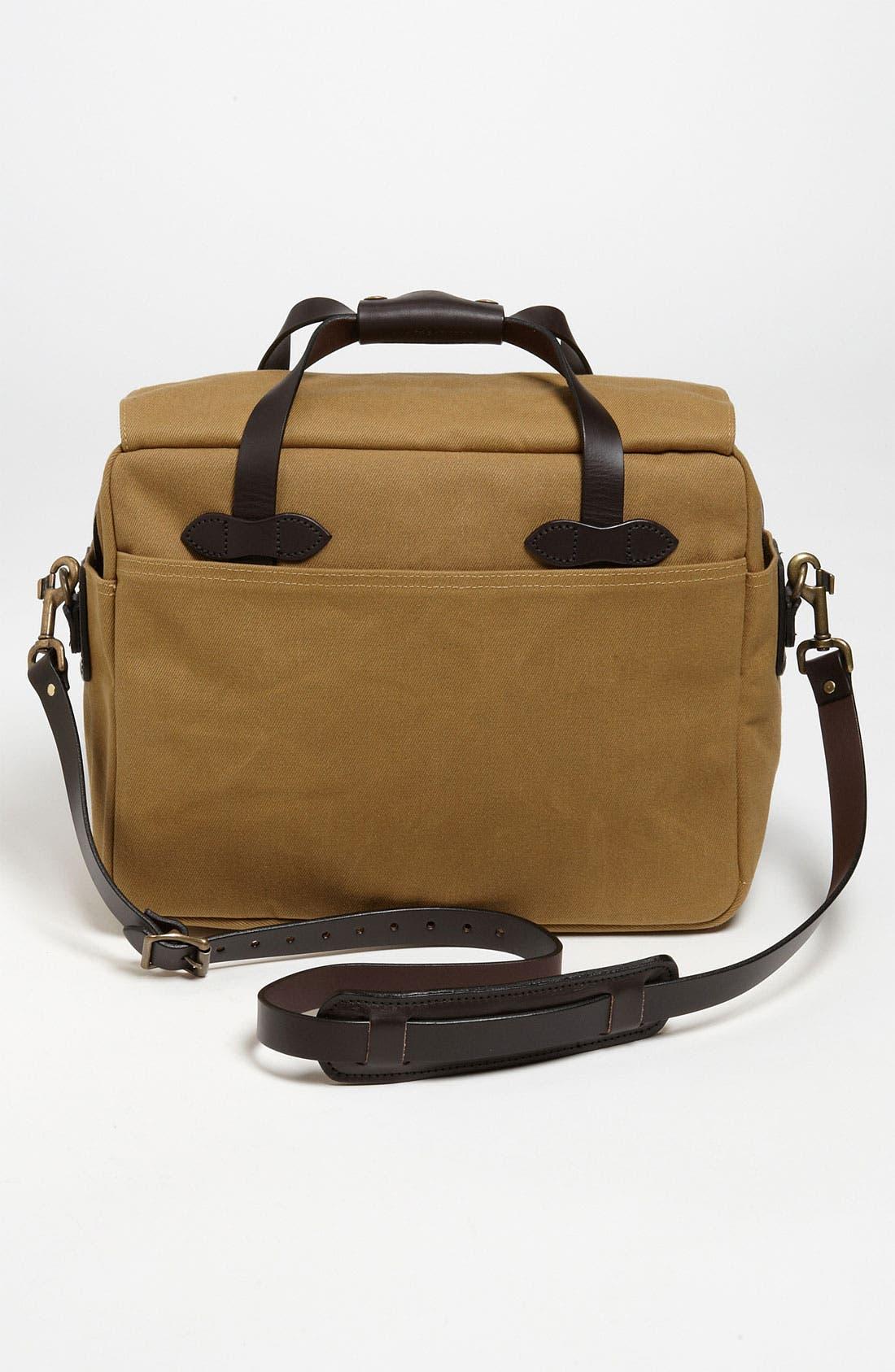 FILSON,                             Padded Laptop Bag,                             Alternate thumbnail 2, color,                             DARK TAN