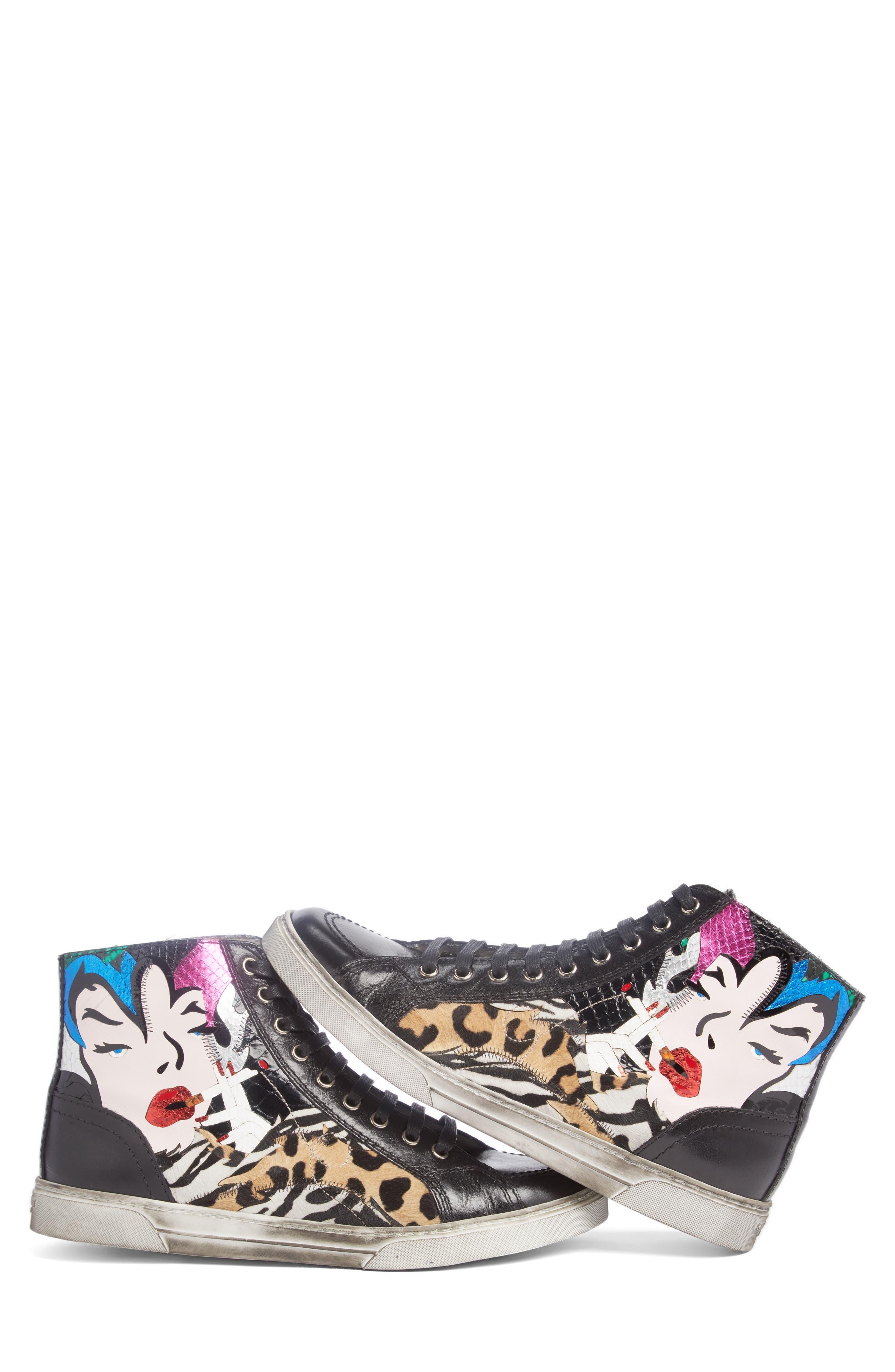 Modern Art Sneaker,                         Main,                         color, 009