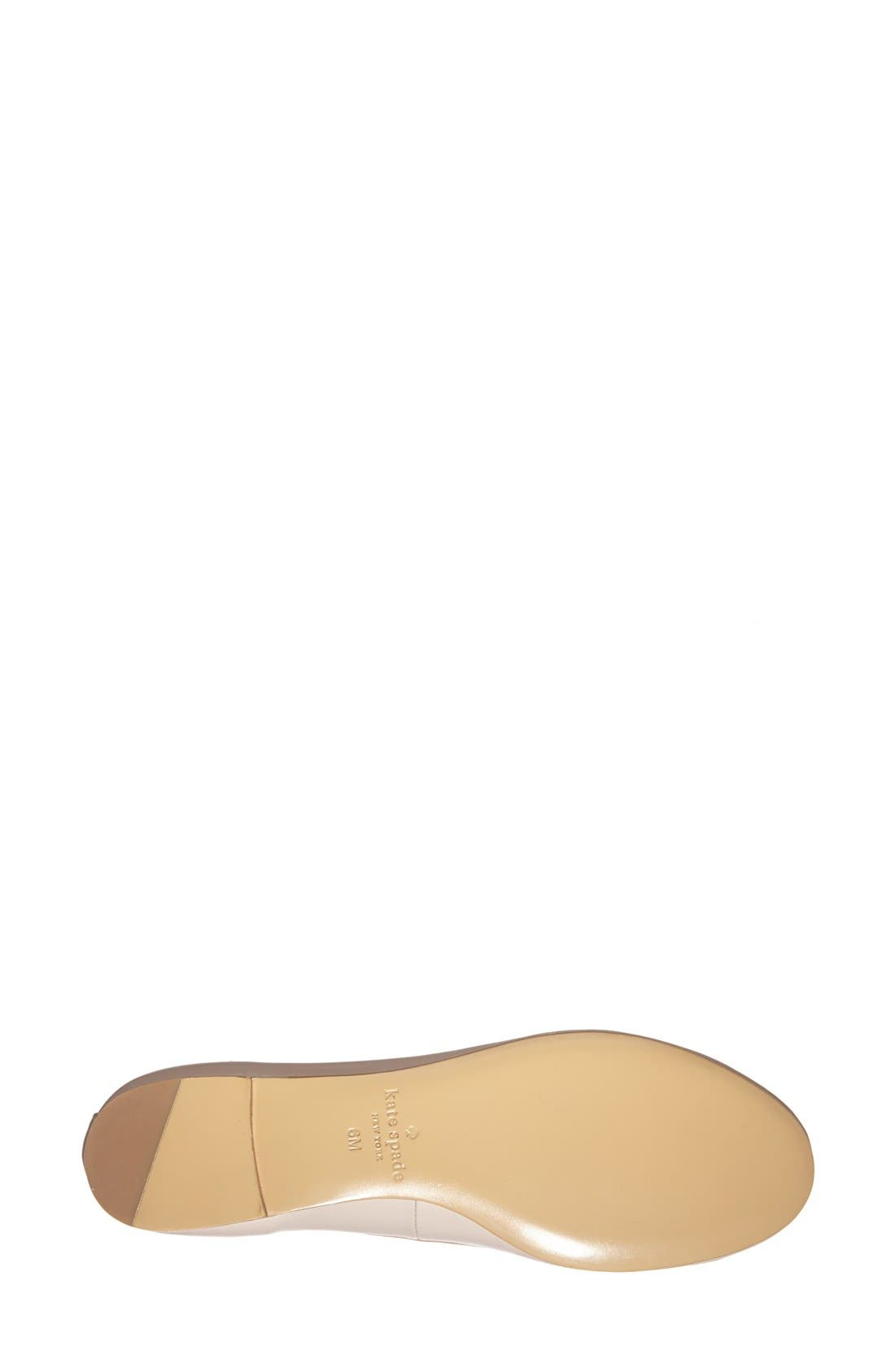'willa' skimmer flat,                             Alternate thumbnail 6, color,                             127
