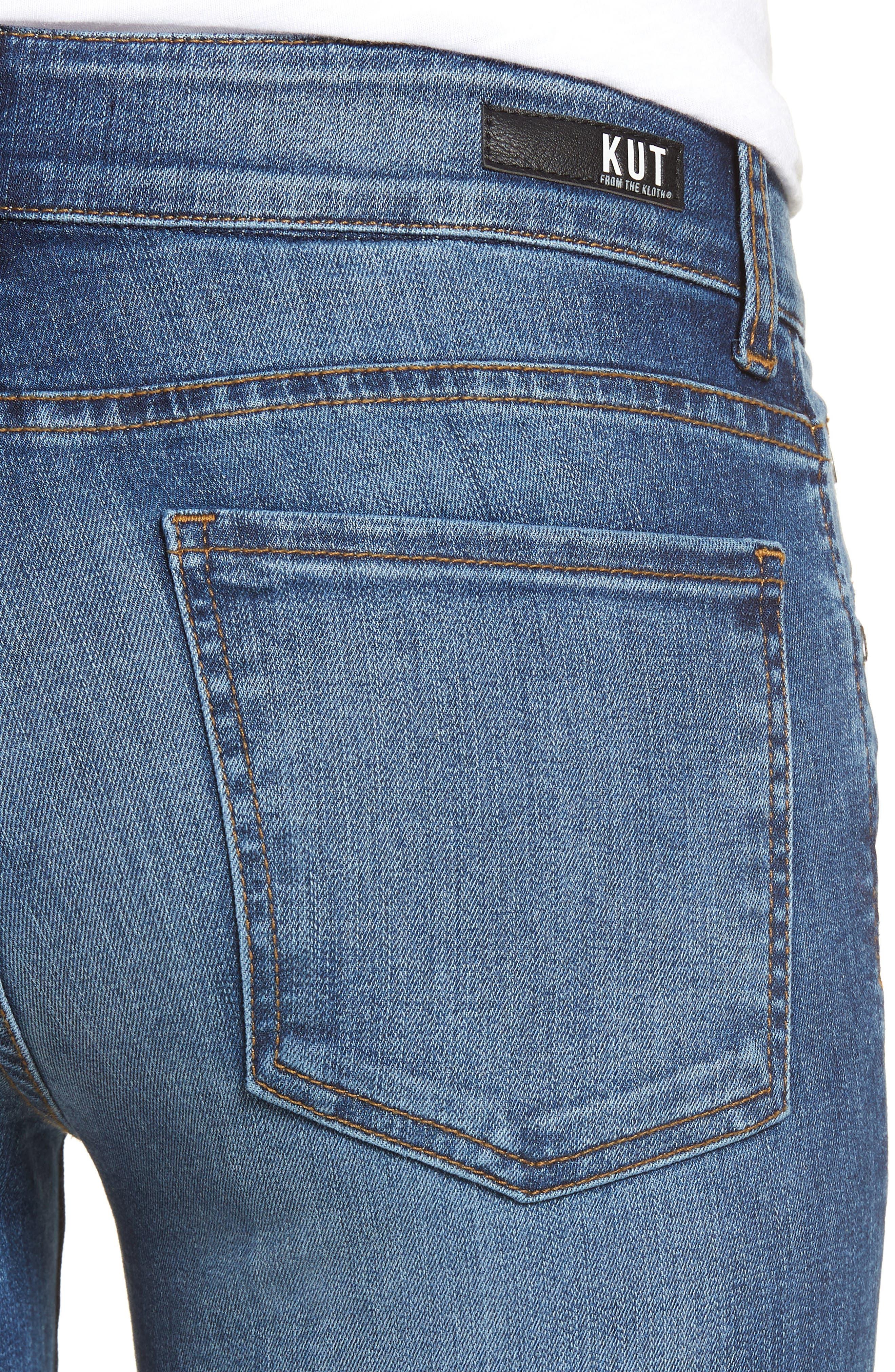 Natalie Bootcut Jeans,                             Alternate thumbnail 4, color,                             460