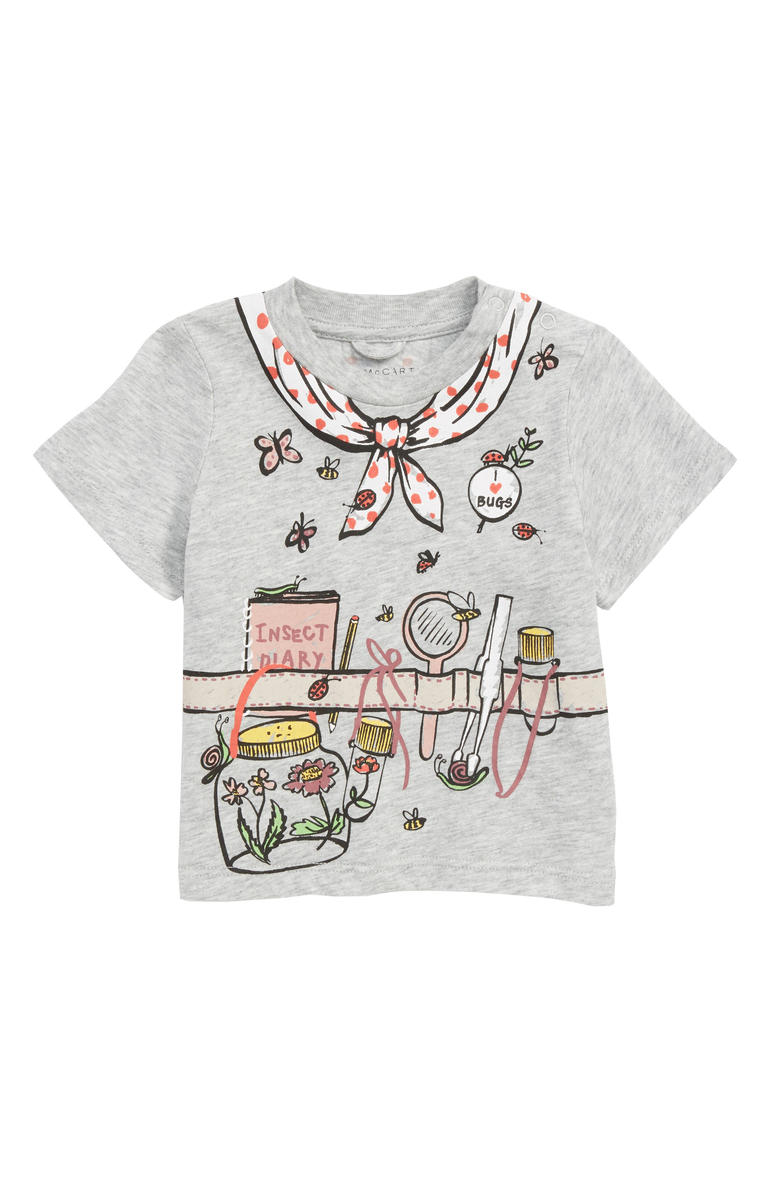 Chuckle Graphic Tee,                         Main,                         color, GREY