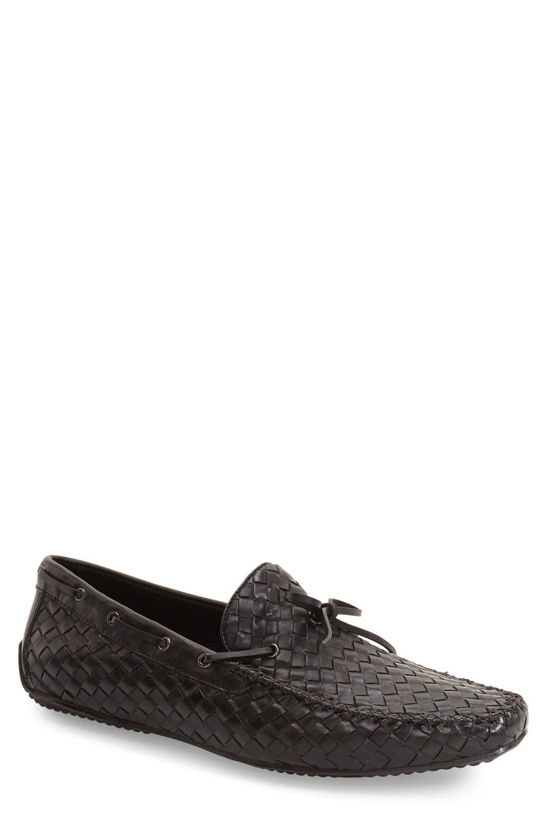 Zanzara Leather Loafer- Black
