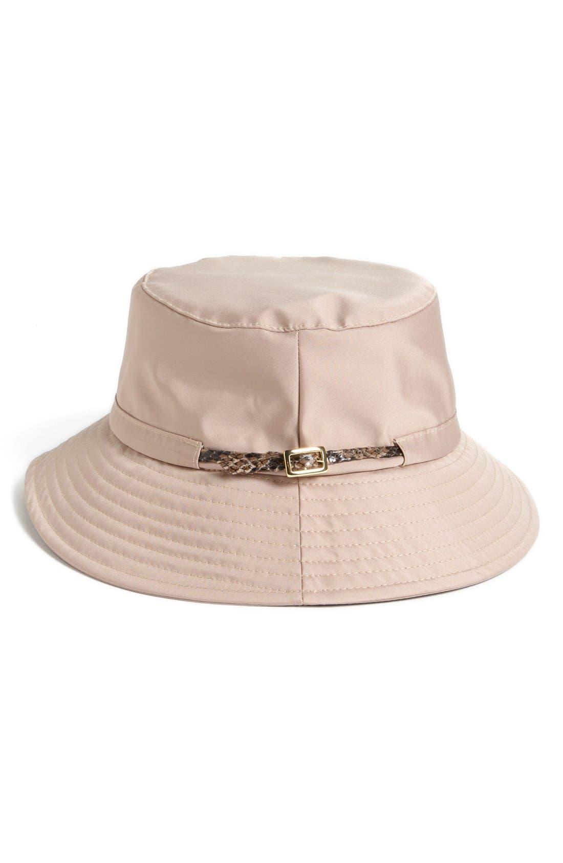 Rain Bucket Hat,                             Alternate thumbnail 9, color,