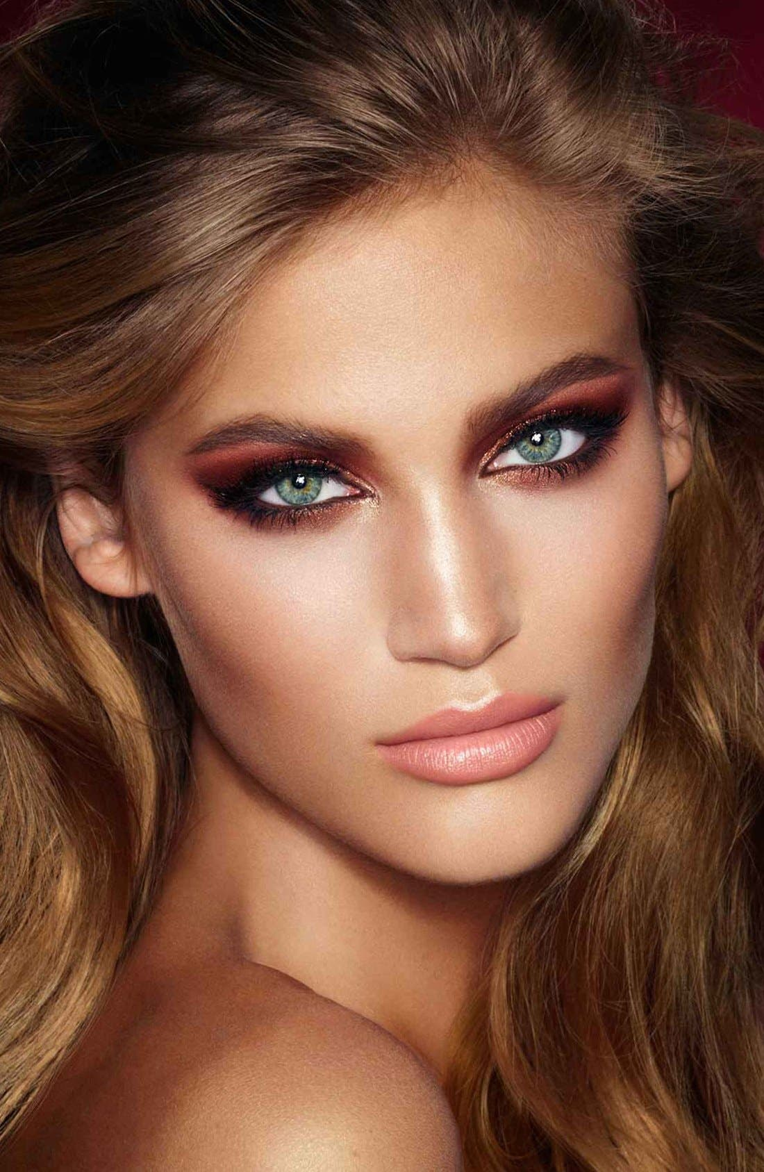 Luxury Palette - The Dolce Vita Color-Coded Eyeshadow Palette,                             Alternate thumbnail 5, color,                             THE DOLCE VITA