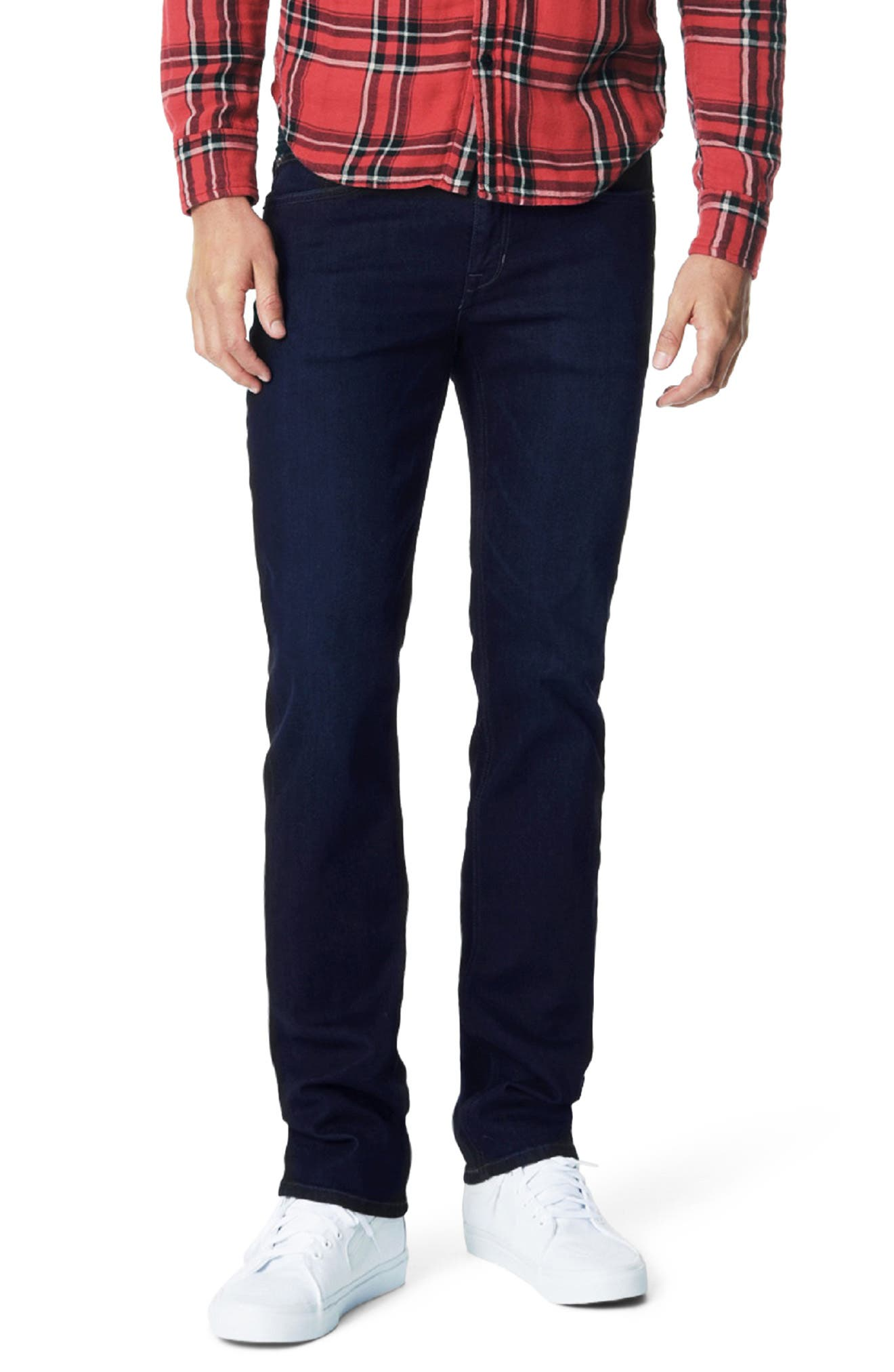 Brixton Slim Straight Leg Jeans,                             Main thumbnail 1, color,                             LEIB