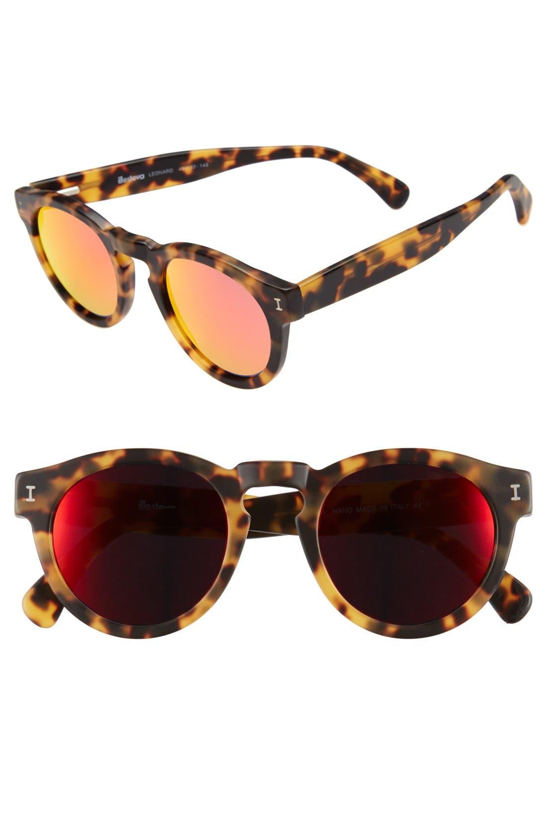 'Leonard' 47mm Sunglasses,                             Main thumbnail 60, color,