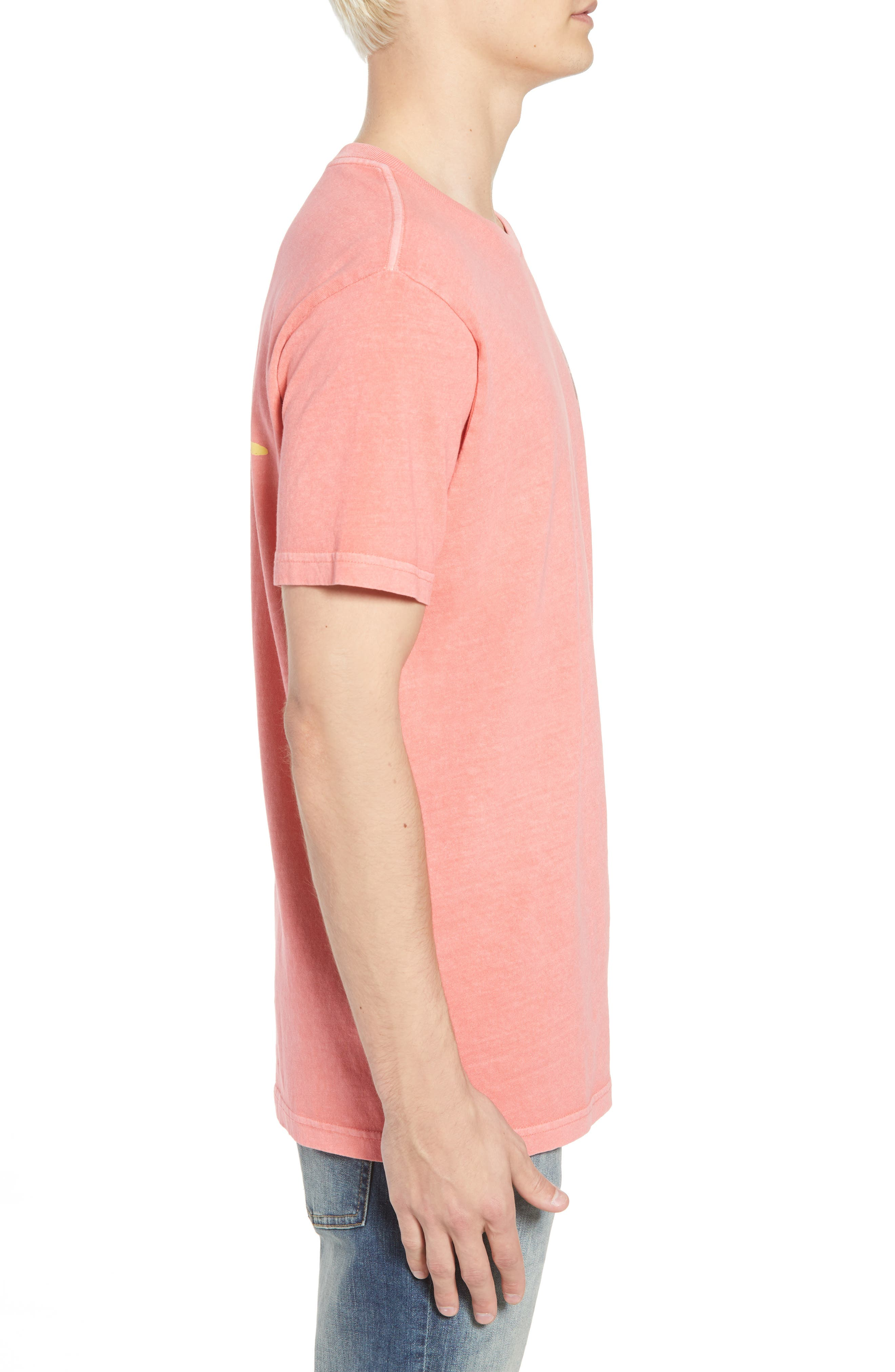 Campbell Brothers T-Shirt,                             Alternate thumbnail 3, color,                             PINK