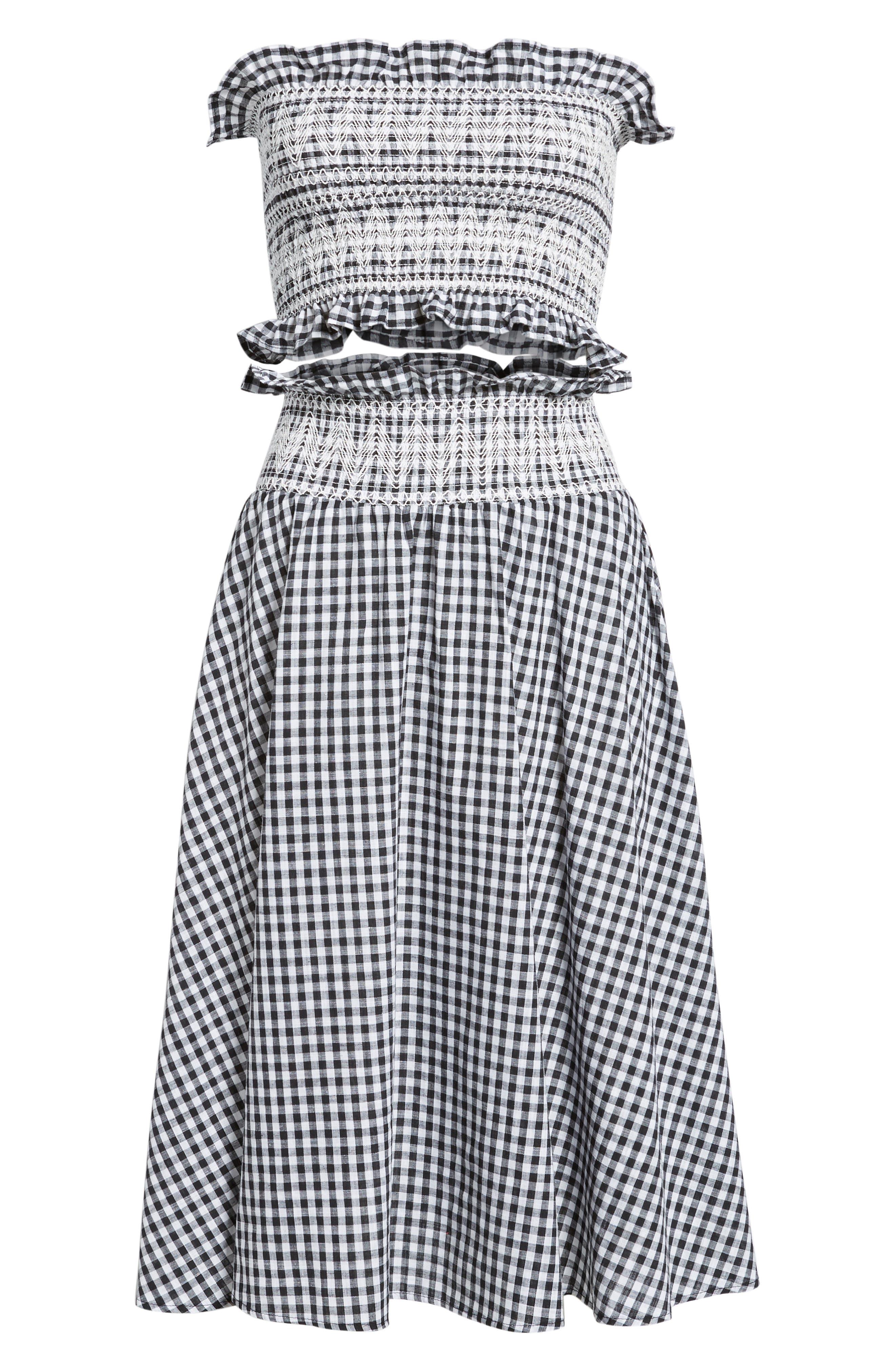 Du Monde Two-Piece Dress,                             Alternate thumbnail 6, color,                             004