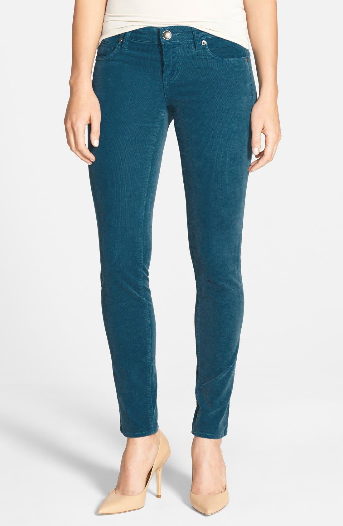 'Diana' Stretch Corduroy Skinny Pants,                             Main thumbnail 35, color,