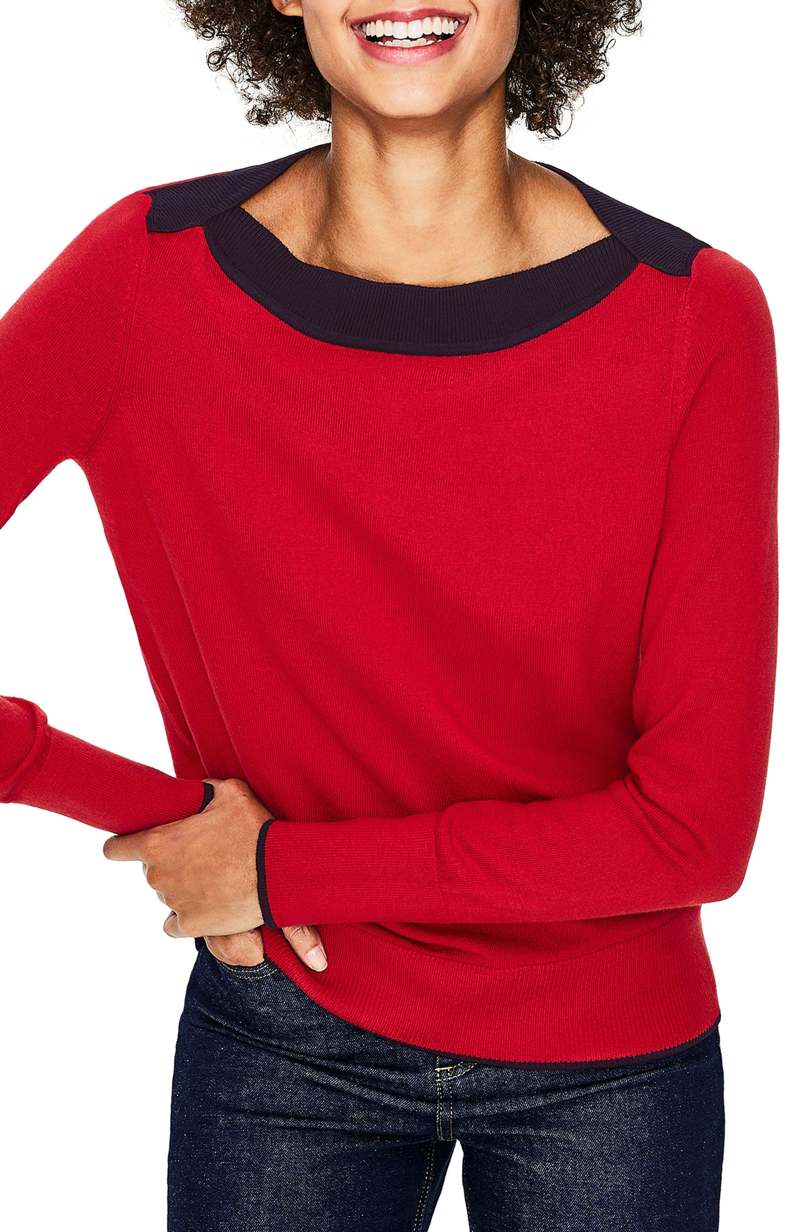 d7f30edffe Boden Louisa Wool Blend Sweater