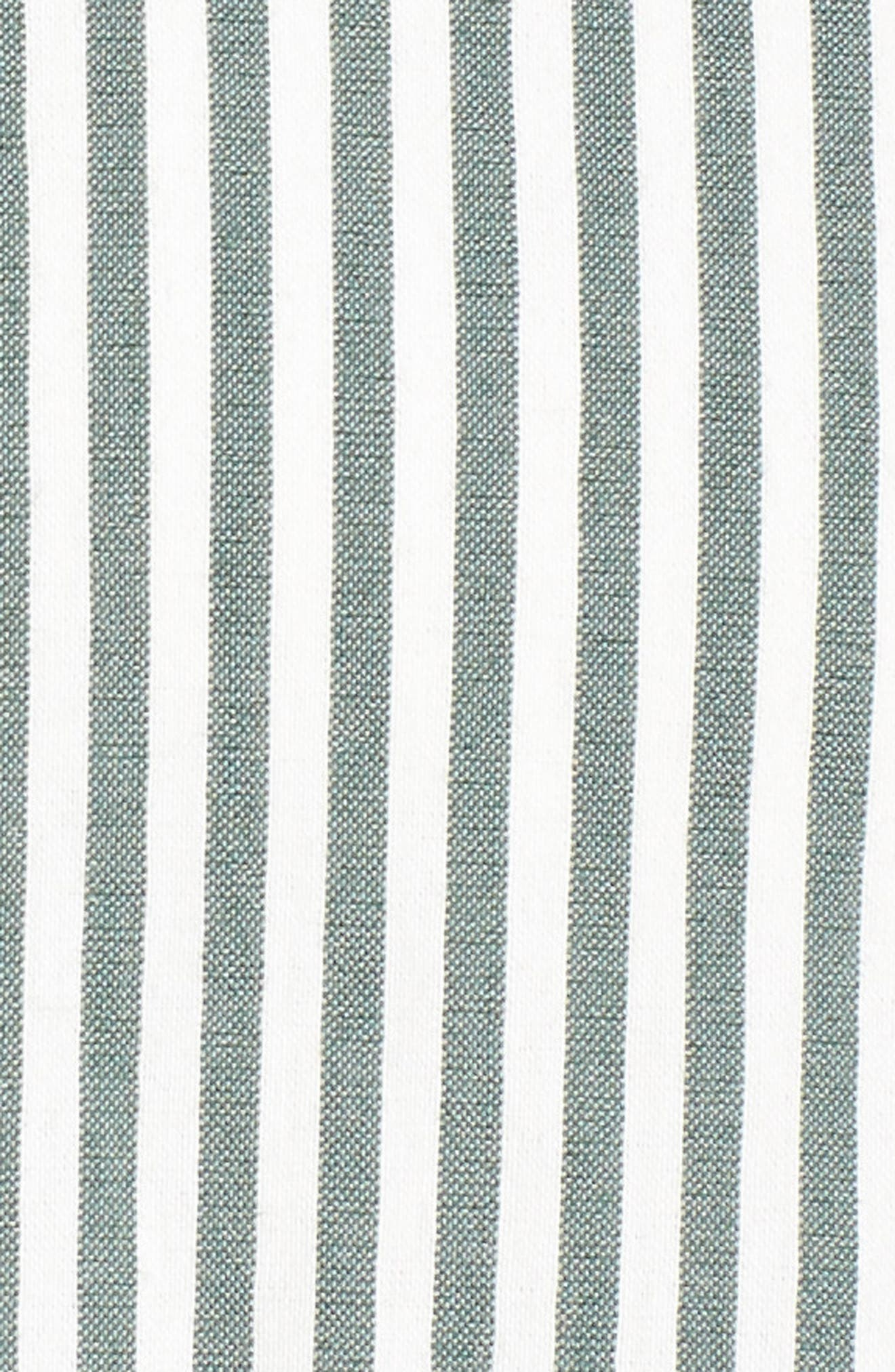 Stripe High/Low Dress,                             Alternate thumbnail 5, color,                             394