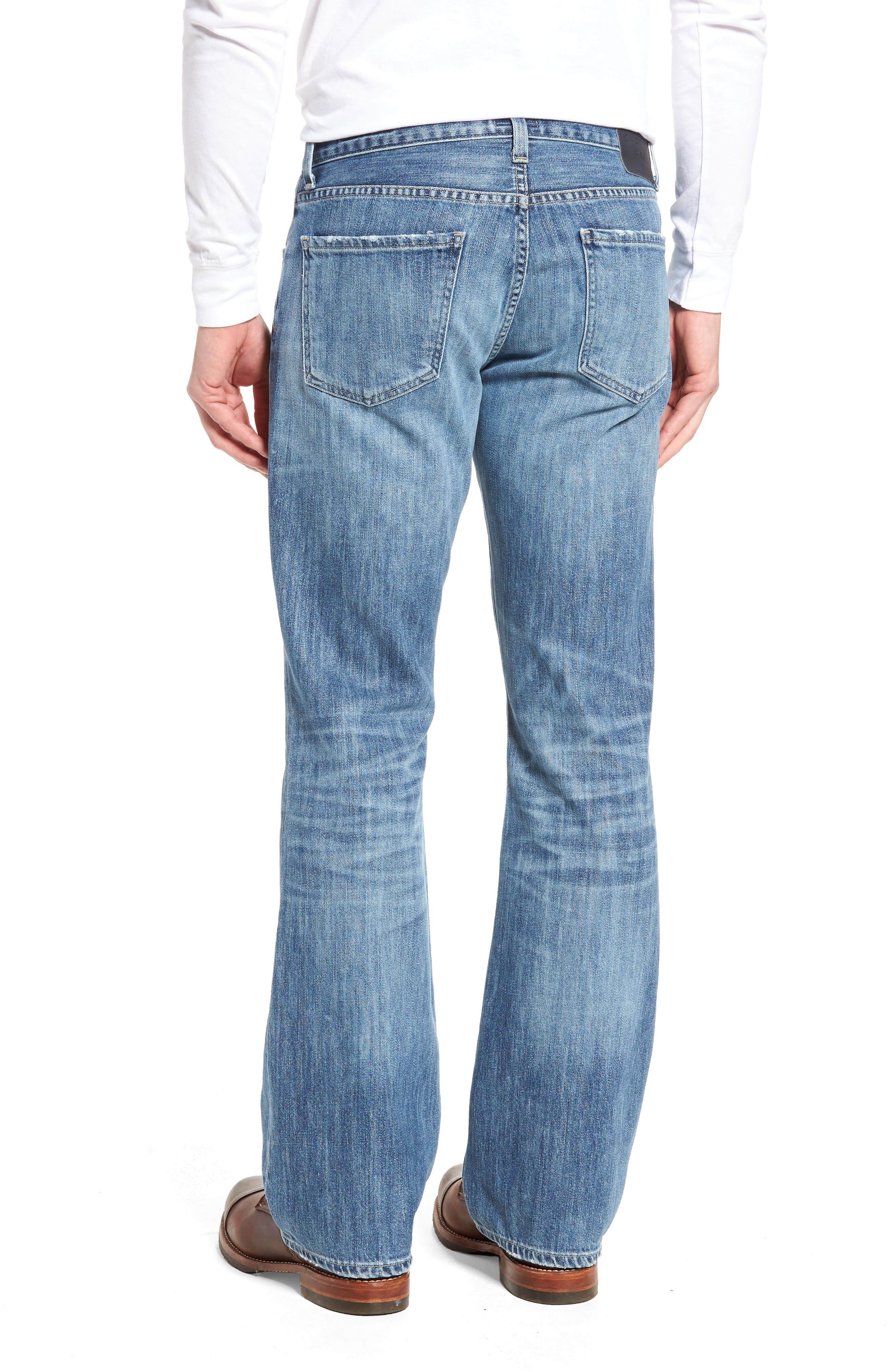 Bootcut Jeans,                             Alternate thumbnail 2, color,