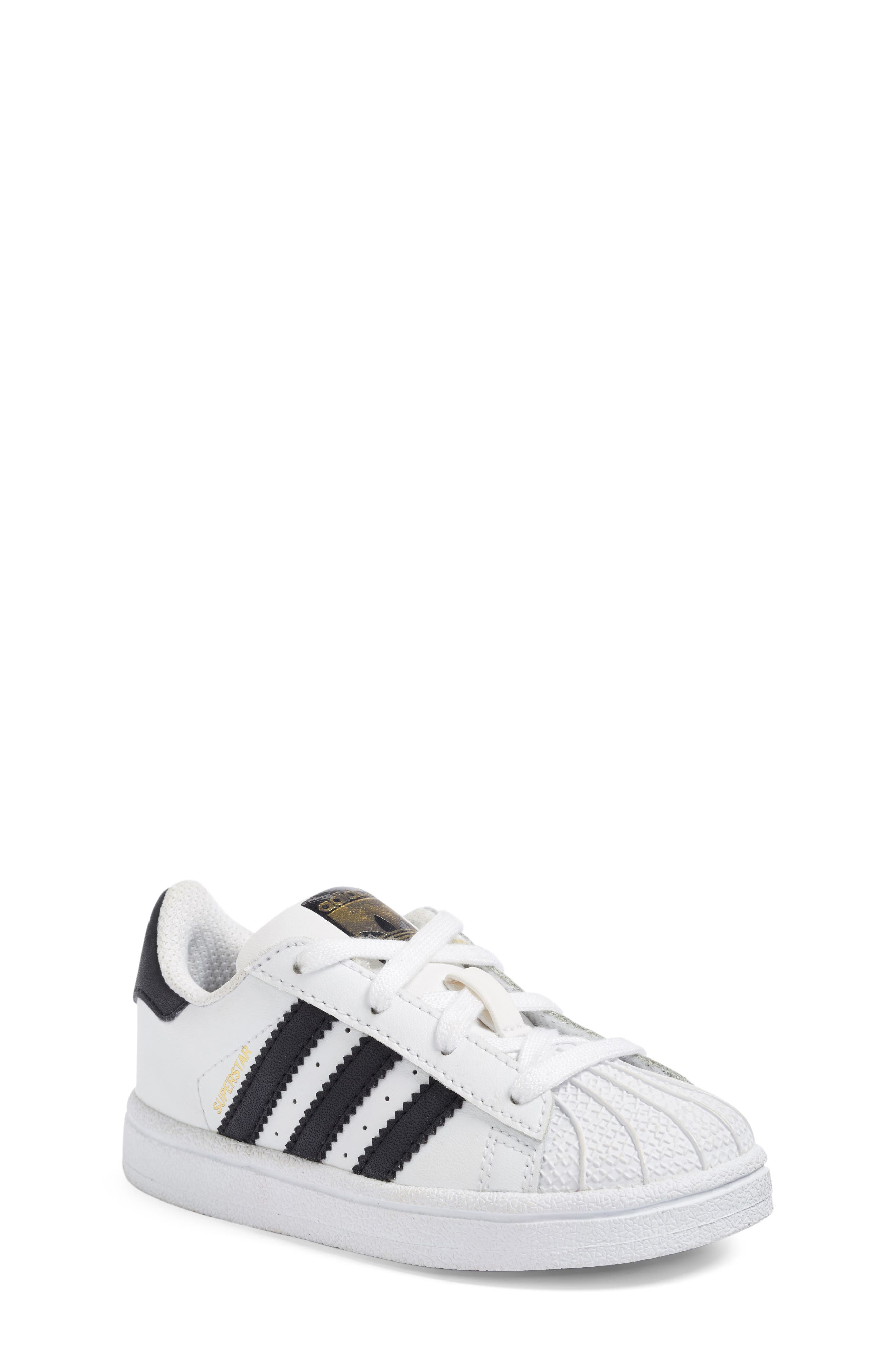 Superstar Foundation Sneaker,                             Main thumbnail 1, color,                             100