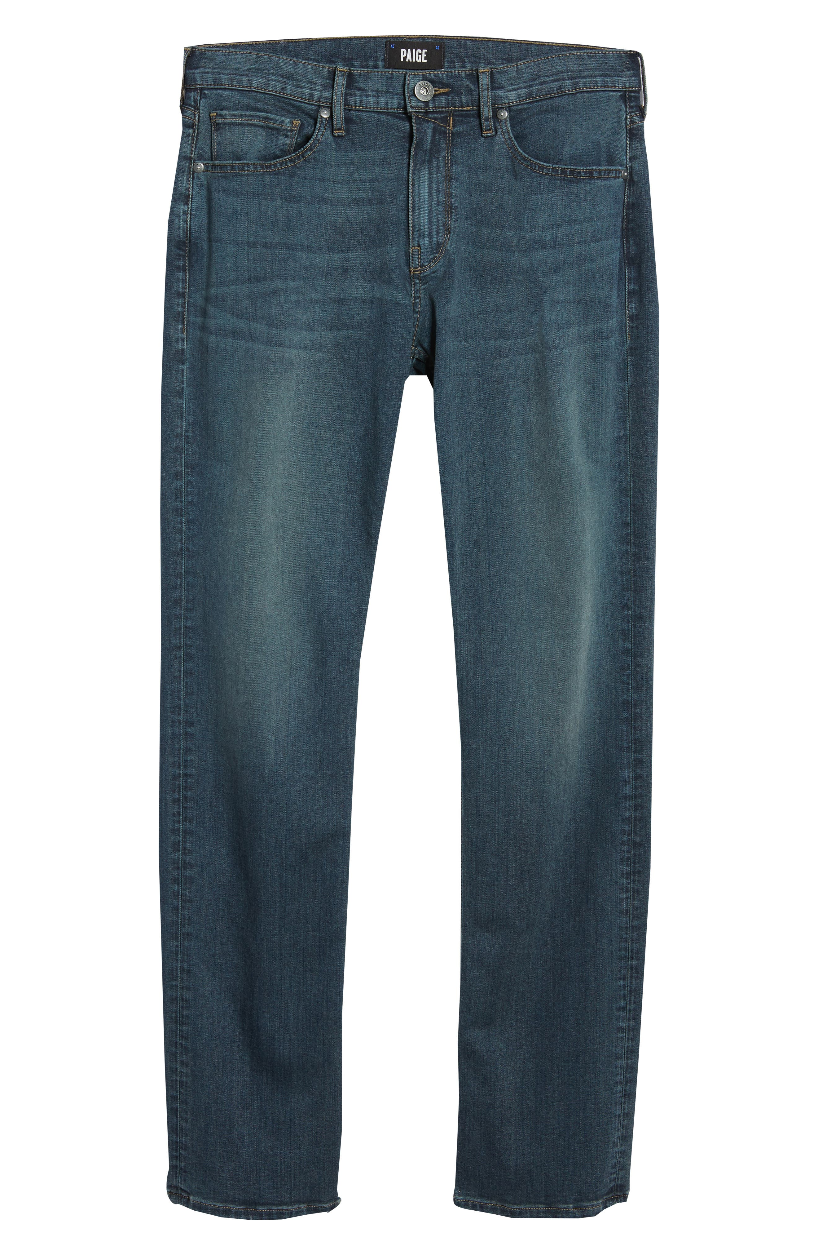 Byron Slim Straight Fit Jeans,                             Alternate thumbnail 6, color,                             424
