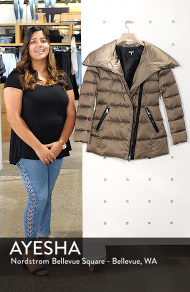 Blair Moto Style Puffer Jacket, sales video thumbnail