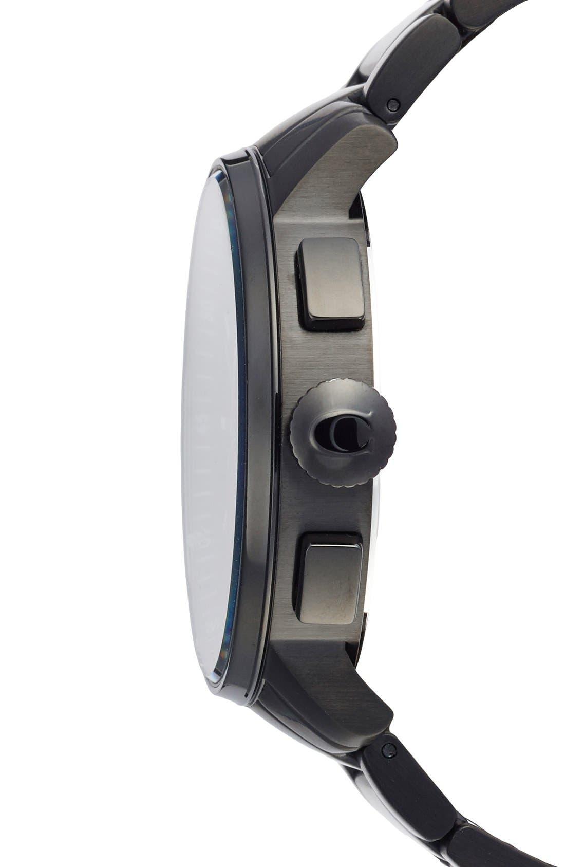 'Bleecker' Chronograph Bracelet Watch, 44mm,                             Alternate thumbnail 3, color,                             002