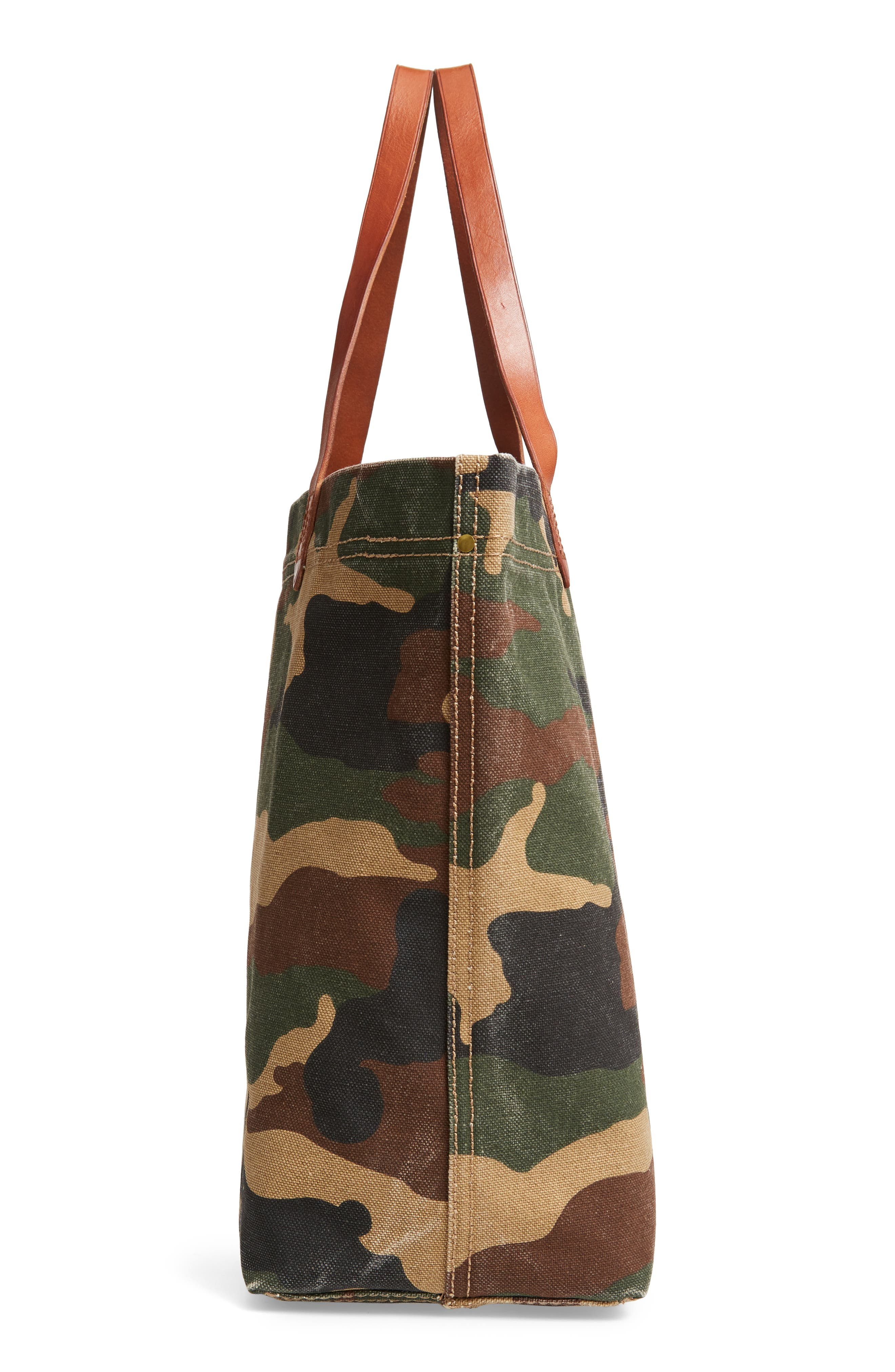 The Canvas Transport Tote in Cottontail Camo,                             Alternate thumbnail 5, color,