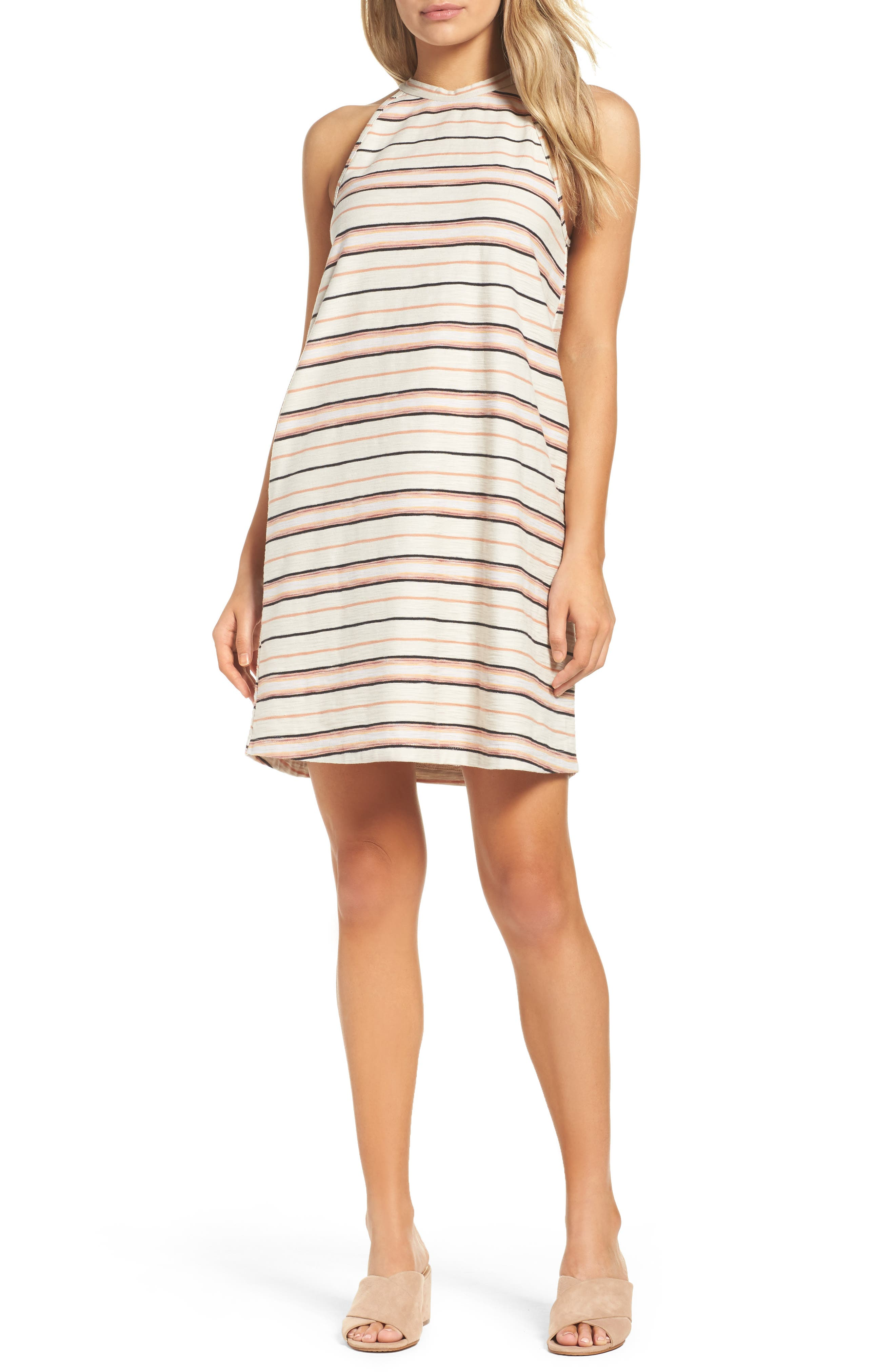 Field Day Stripe Dress,                         Main,                         color, 258
