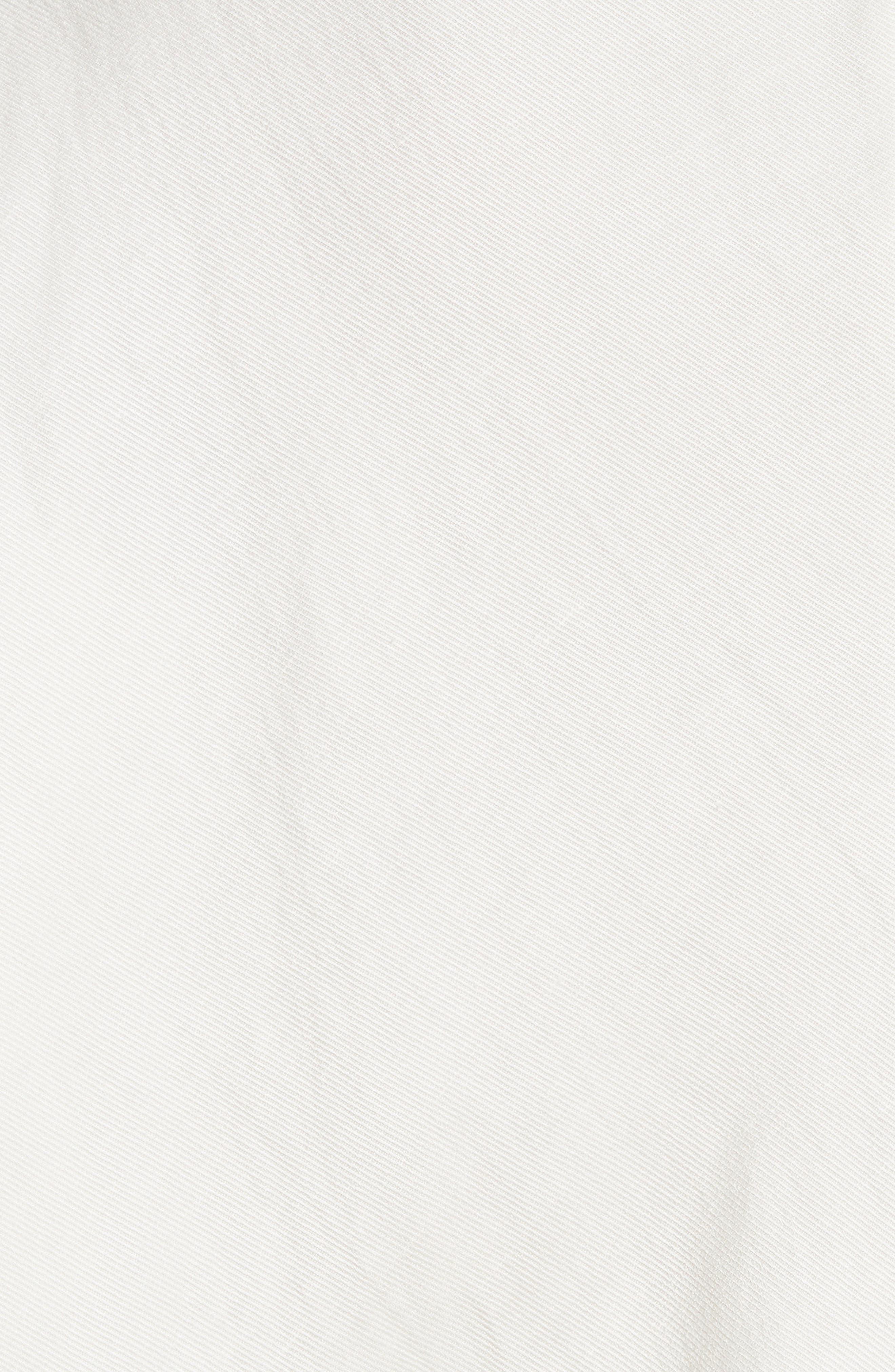 Concave Drape Shirt,                             Alternate thumbnail 5, color,                             100