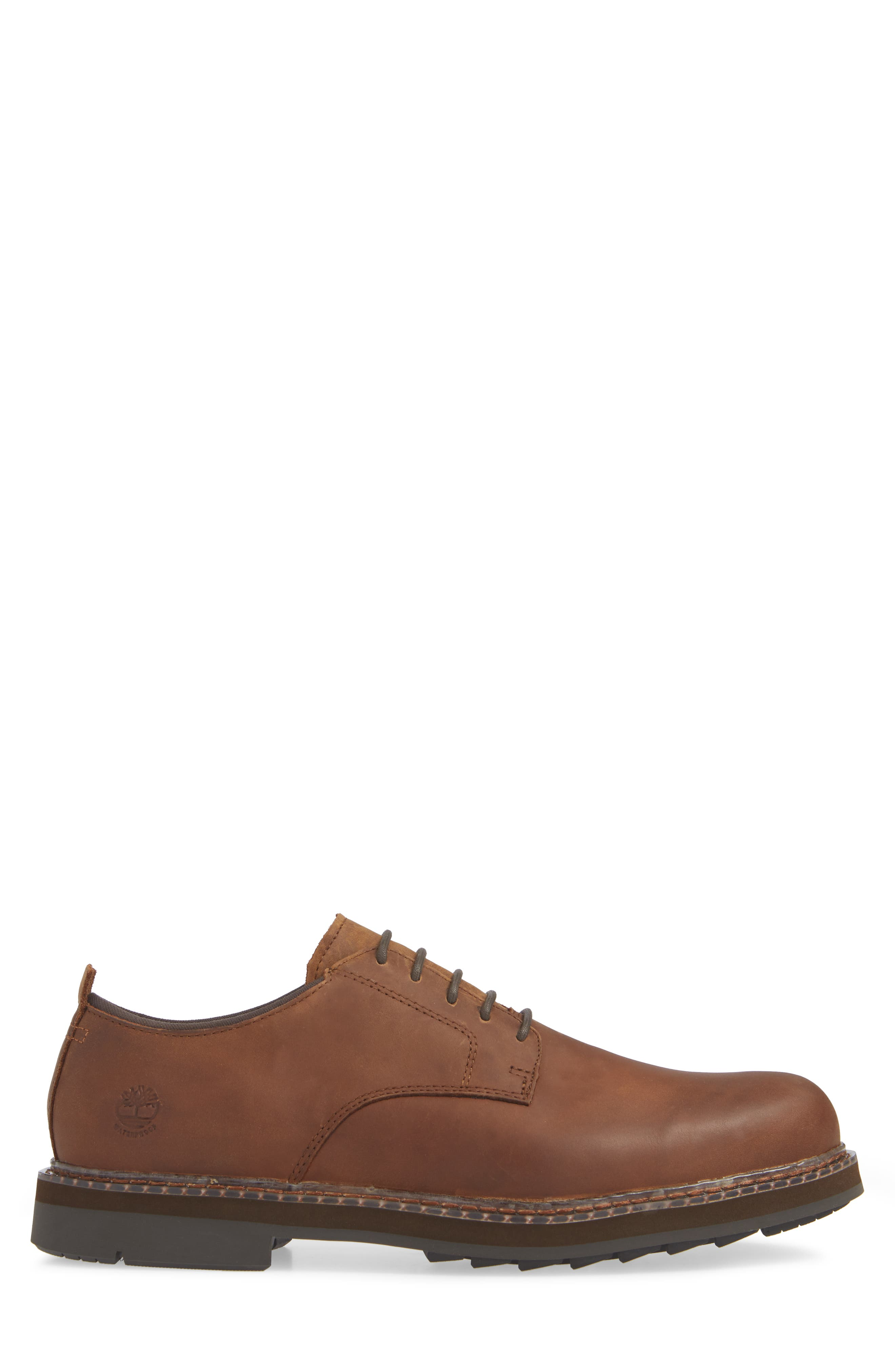Squall Canyon Waterproof Plain Toe Derby,                             Alternate thumbnail 3, color,                             COPPER LEATHER