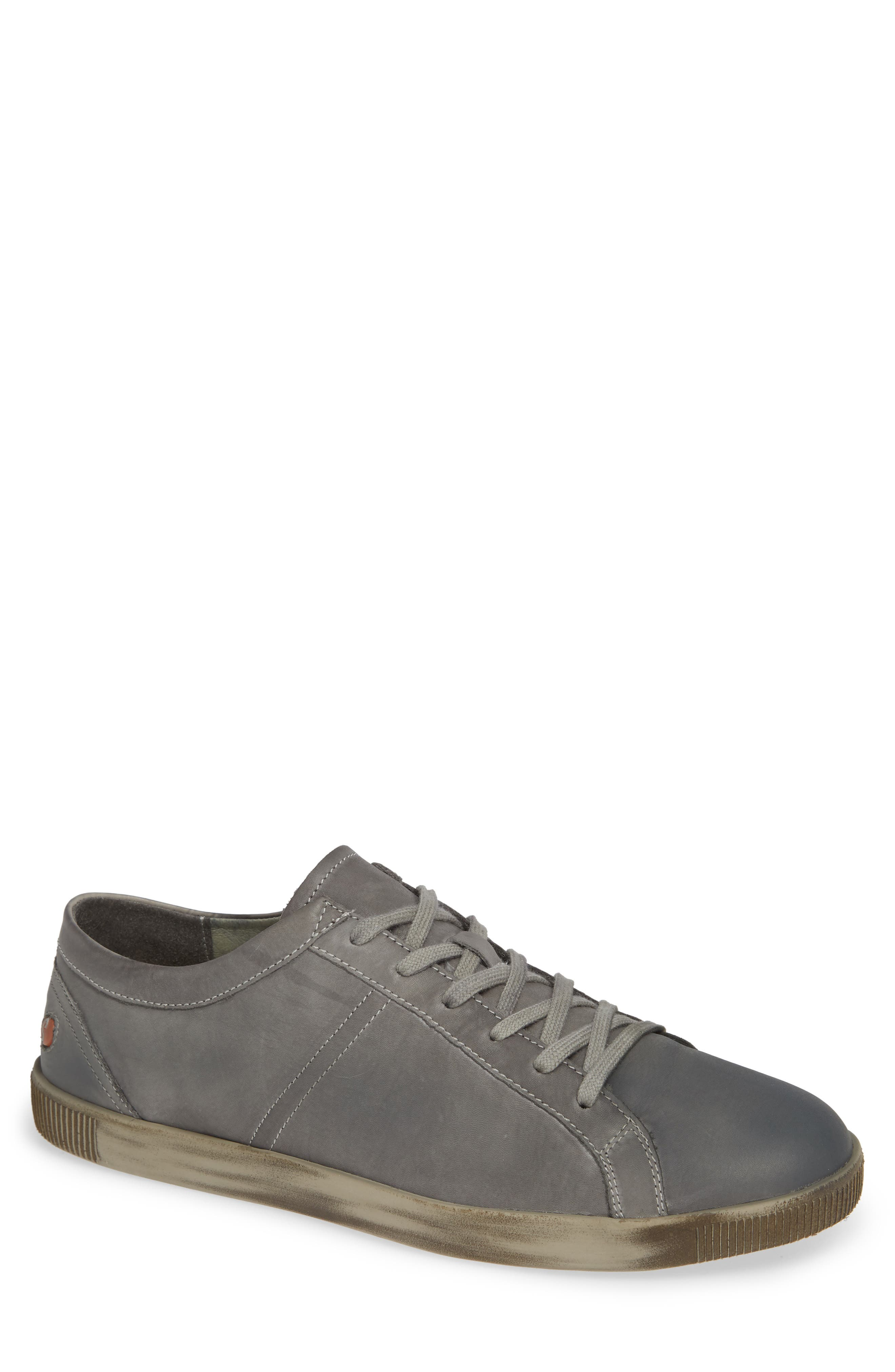 Tom Sneaker,                             Main thumbnail 1, color,                             MILITARY WASHED LEATHER
