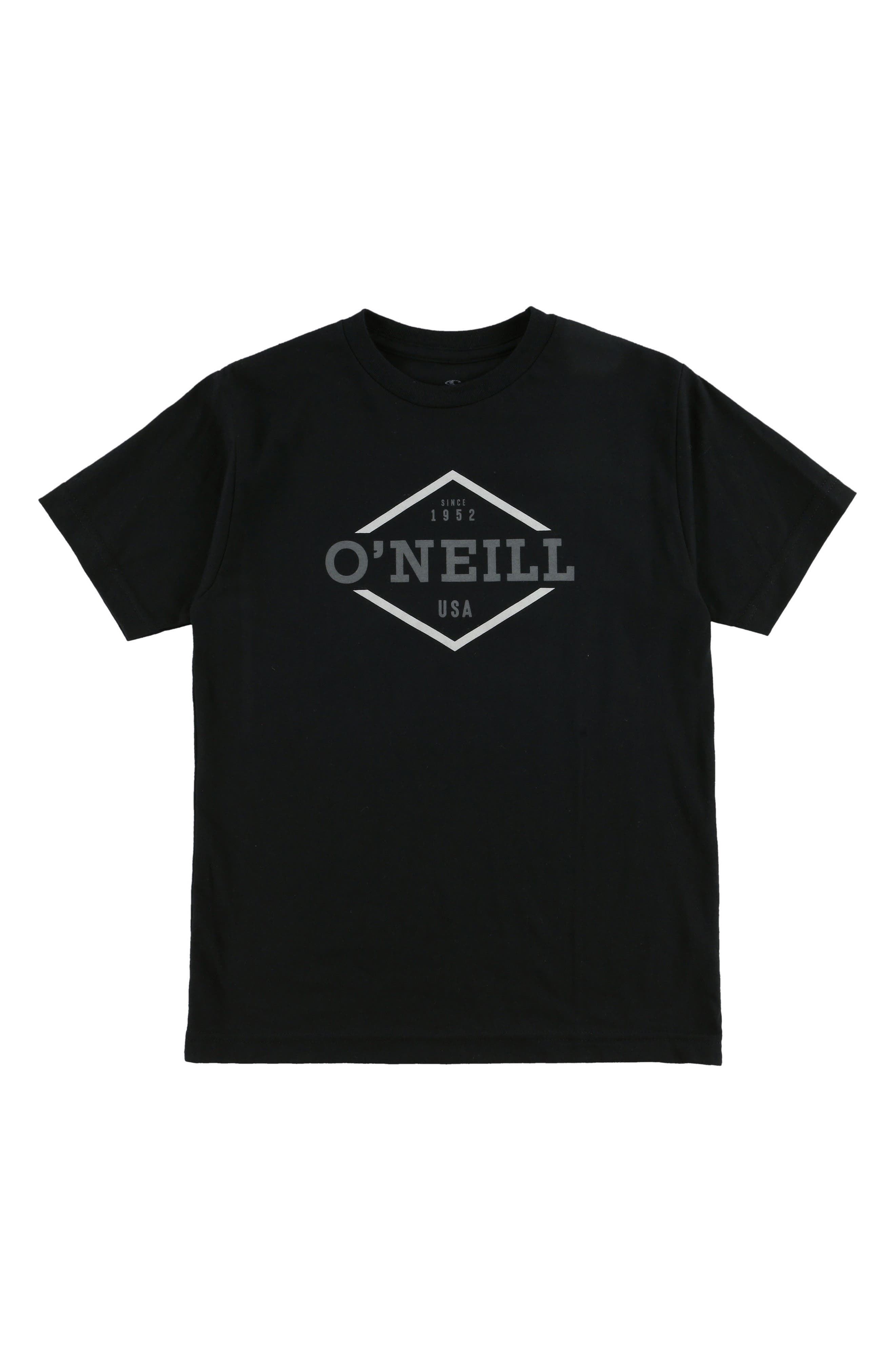 Rockwell Logo Graphic T-Shirt,                         Main,                         color, BLACK