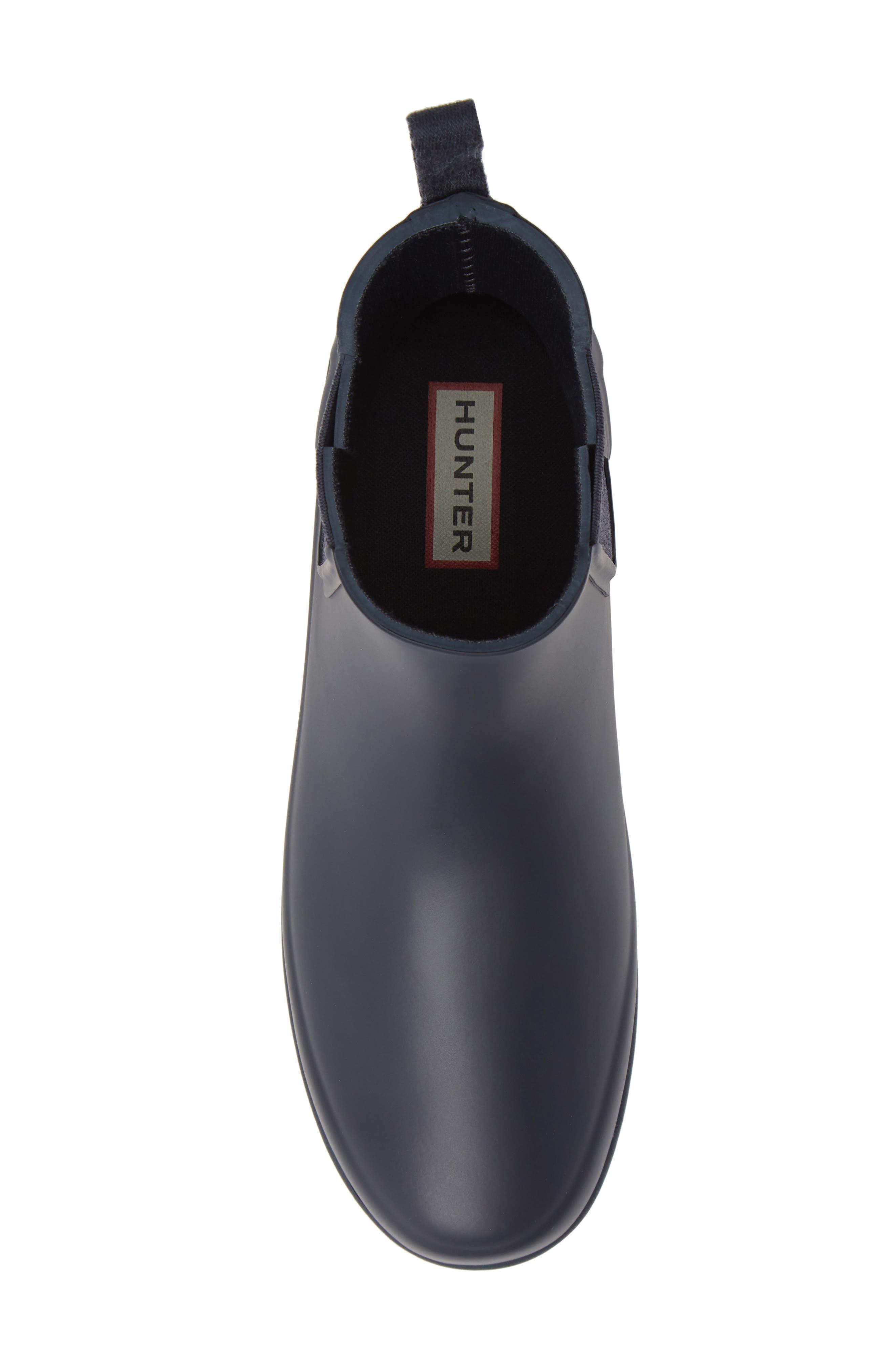 Refined Chelsea Boot,                             Alternate thumbnail 5, color,                             NAVY