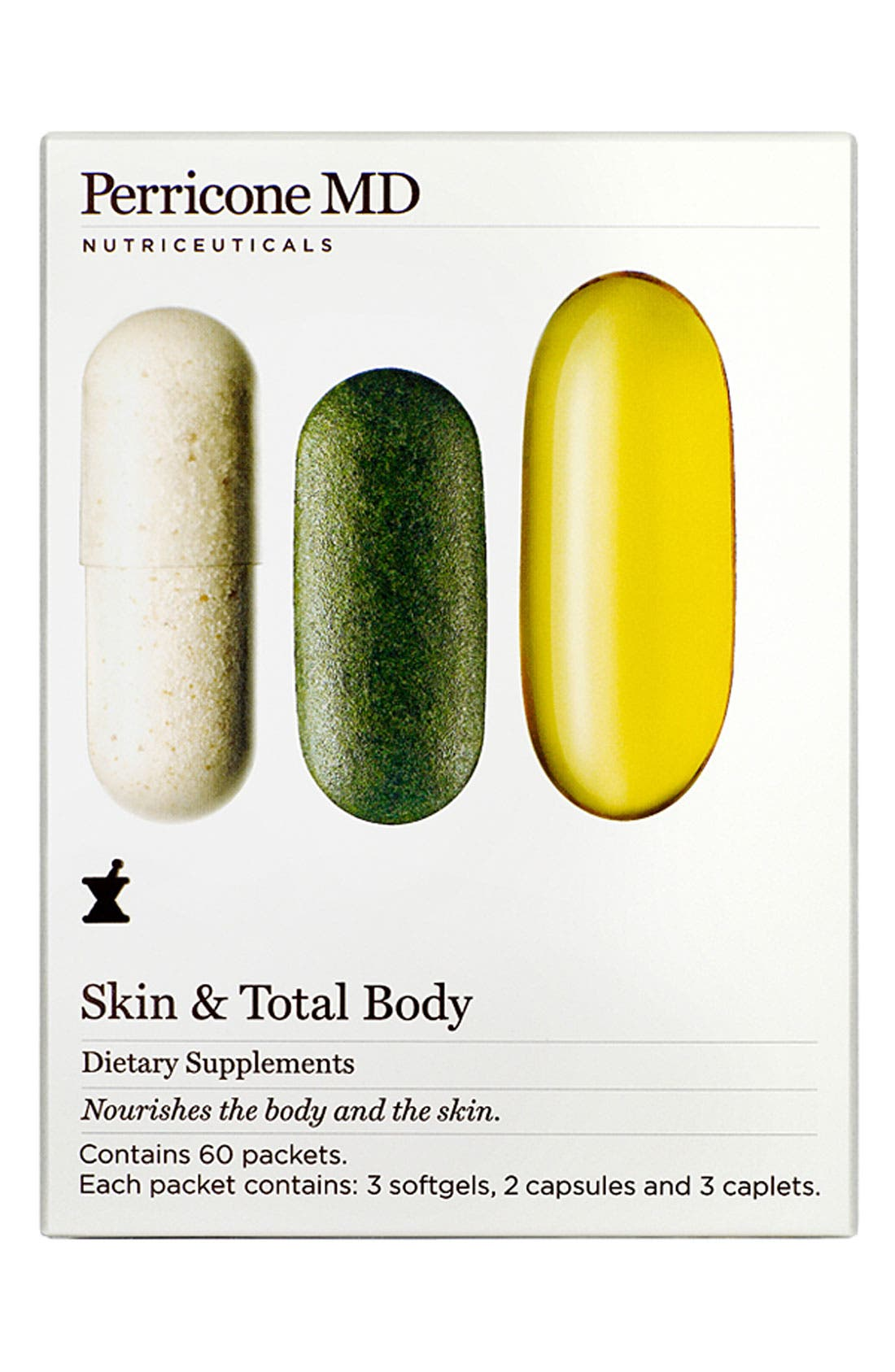 PERRICONE MD,                             Skin & Total Body Dietary Supplements,                             Main thumbnail 1, color,                             NO COLOR