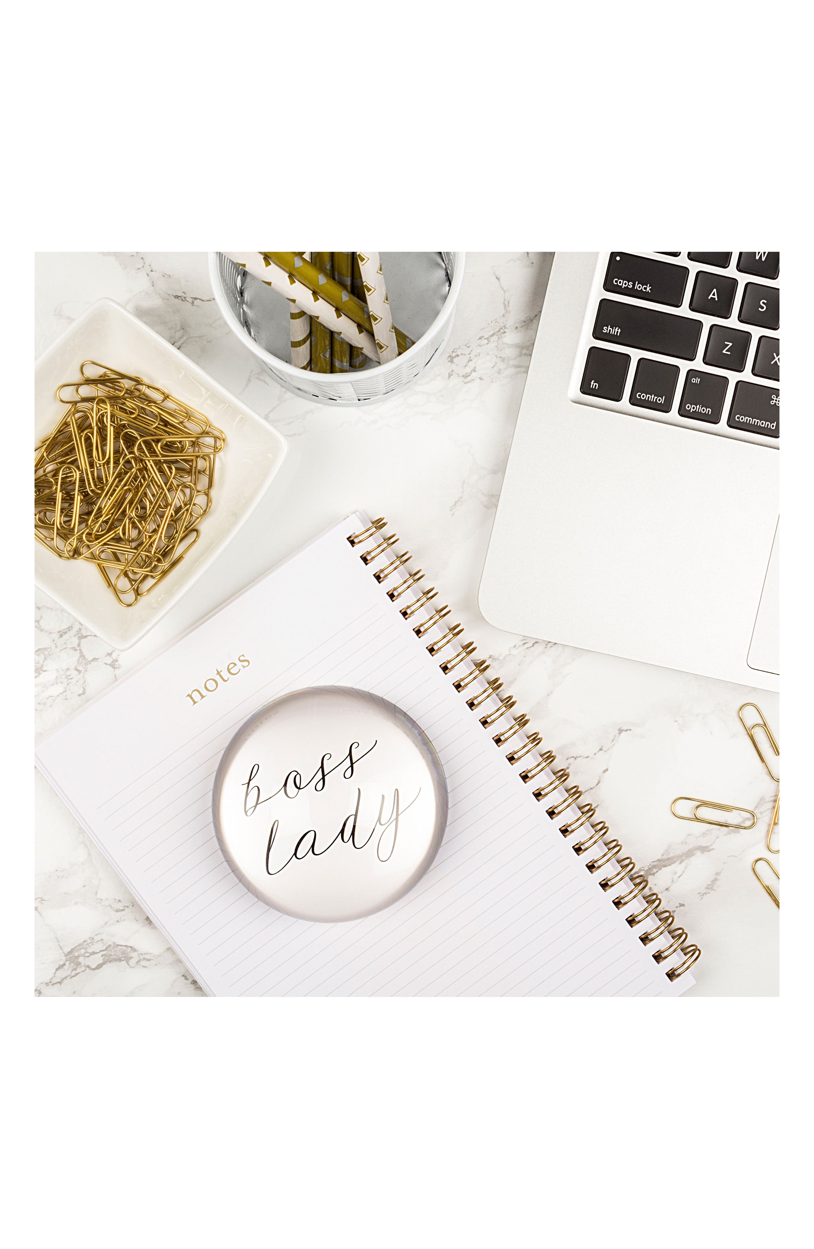 Boss Lady Glass Paperweight,                             Alternate thumbnail 5, color,                             100