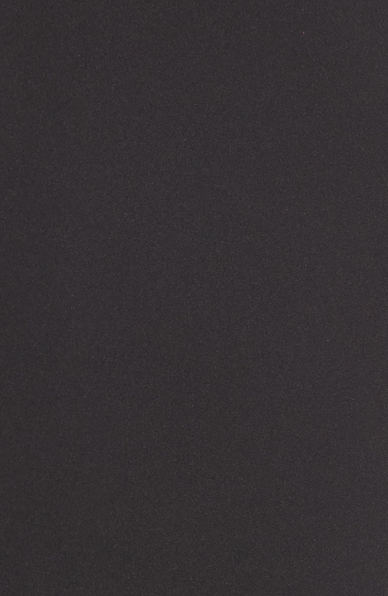 Ruffle Sleeveless Dress,                             Alternate thumbnail 5, color,                             001