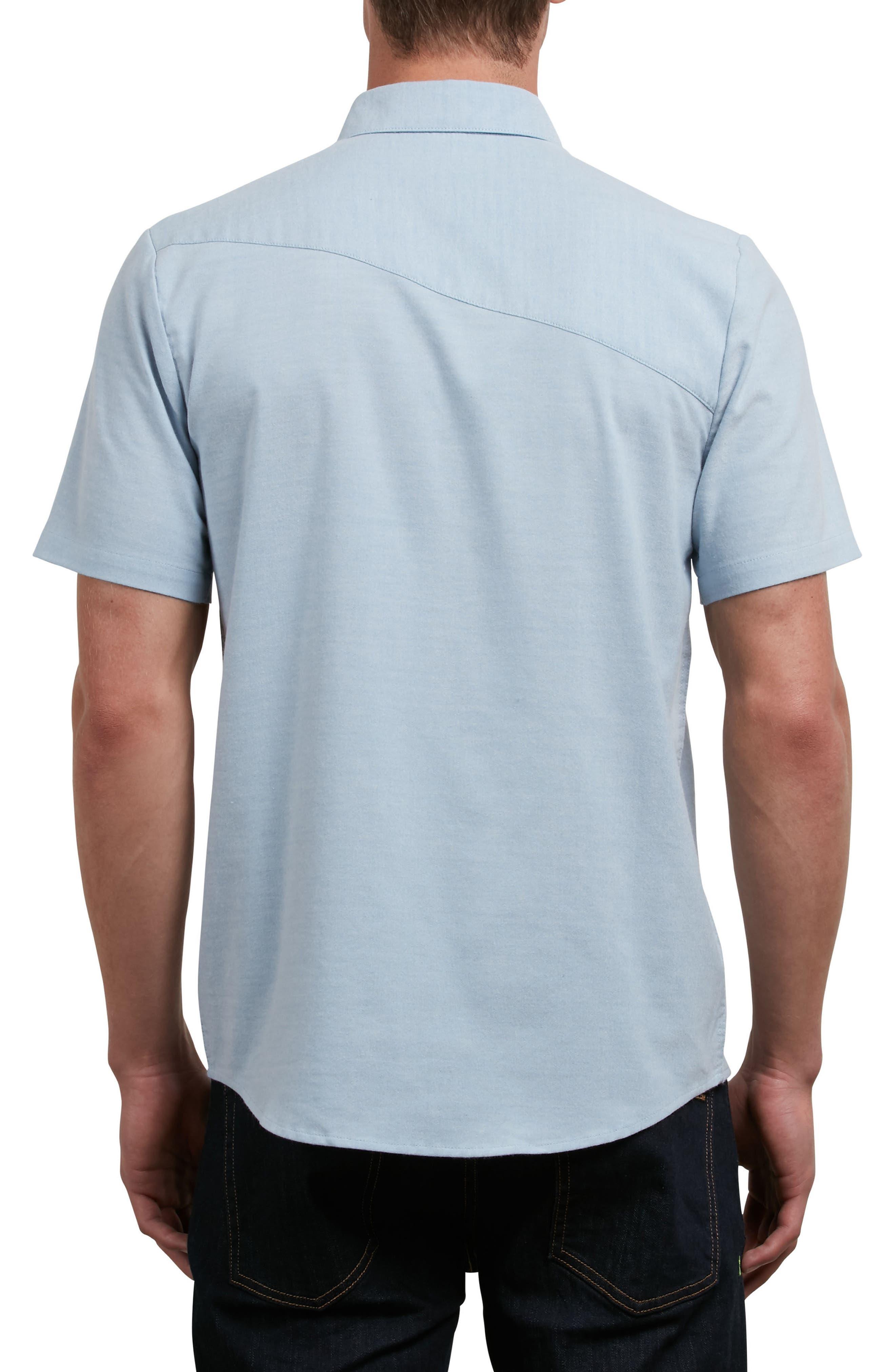 Everett Oxford Shirt,                             Alternate thumbnail 2, color,                             INDIGOWORK