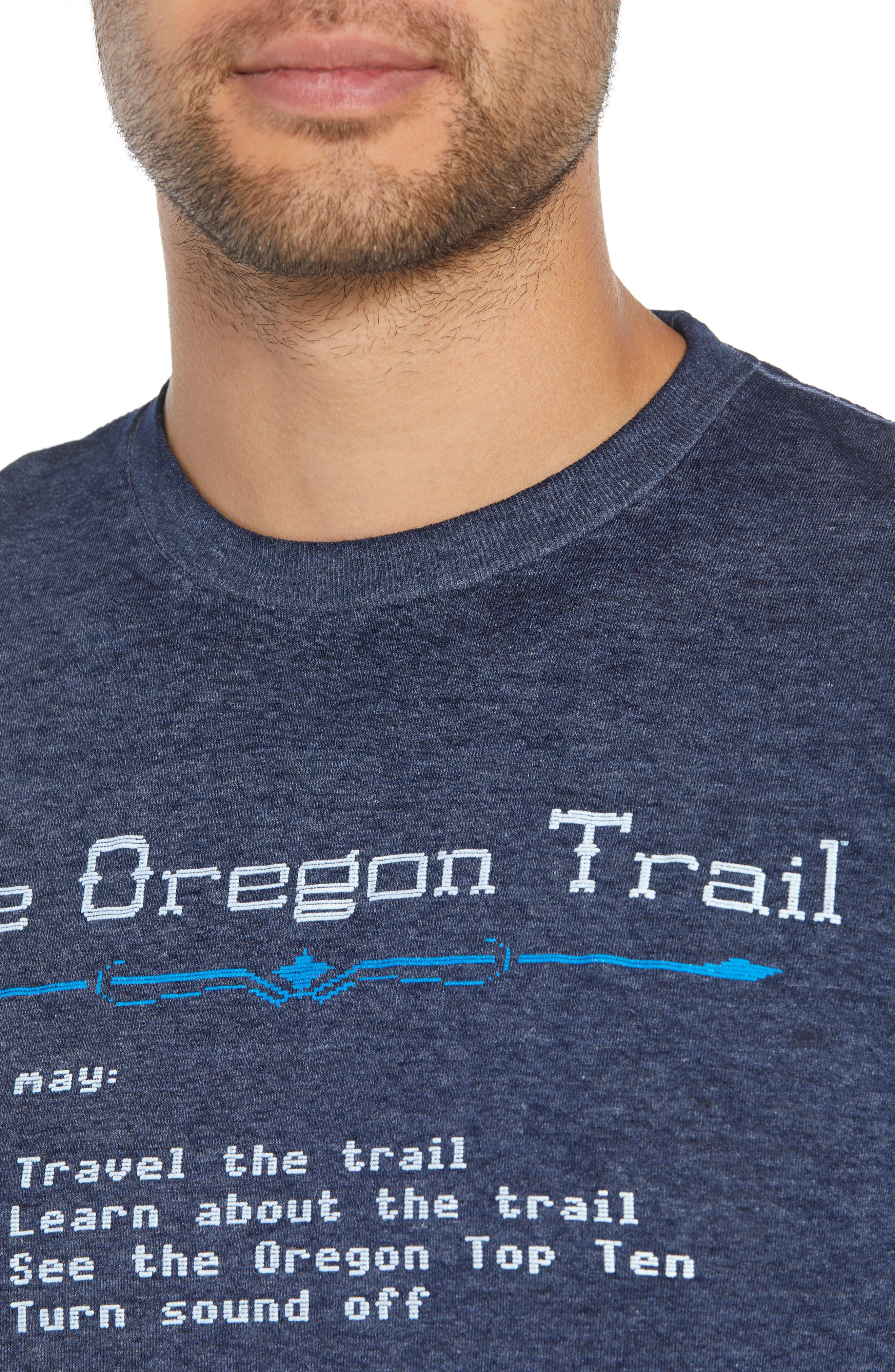 Oregon Trail T-Shirt,                             Alternate thumbnail 4, color,                             001