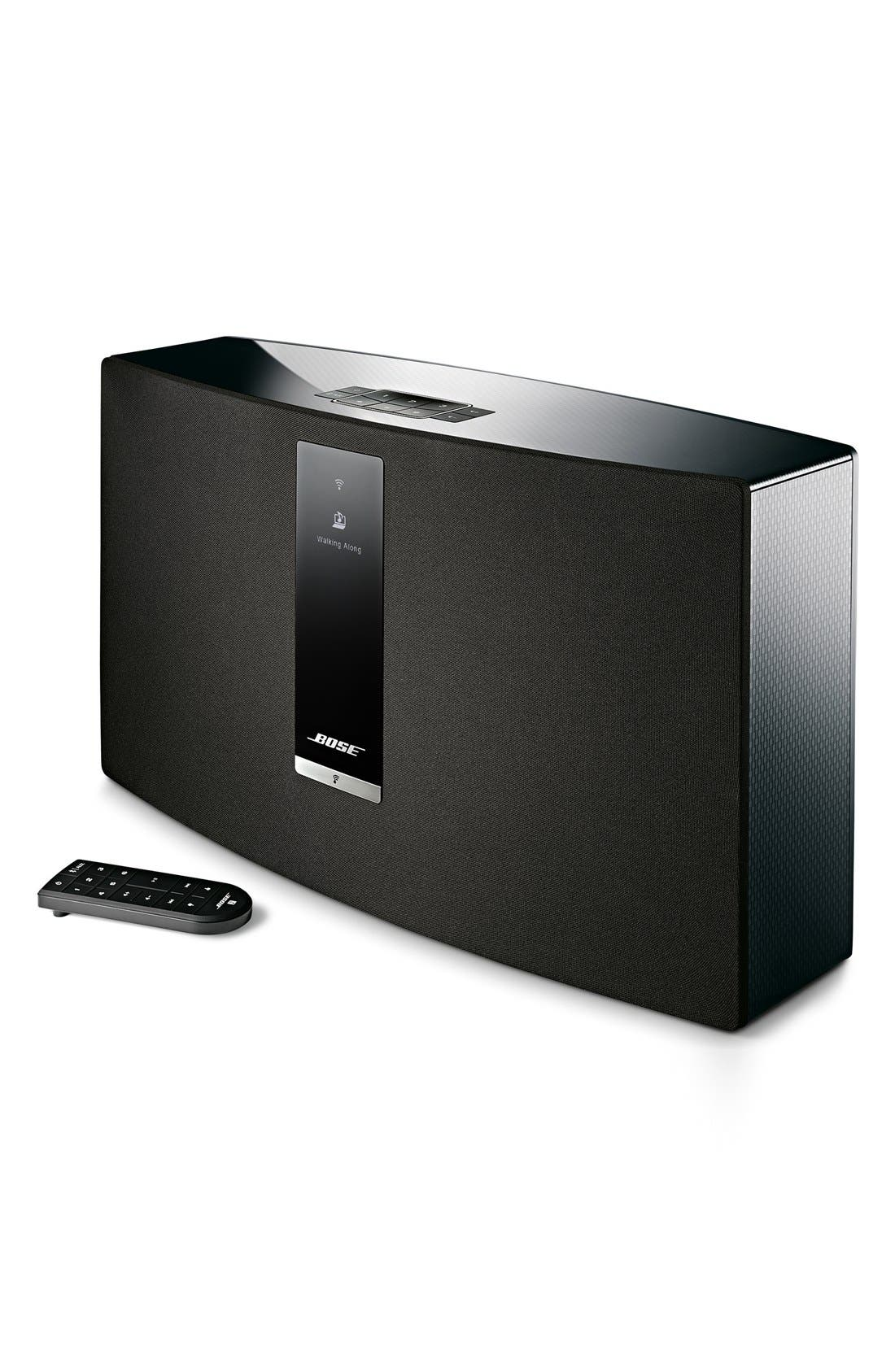 SoundTouch<sup>®</sup> 30 Series III Wireless Music System,                             Main thumbnail 1, color,                             BLACK