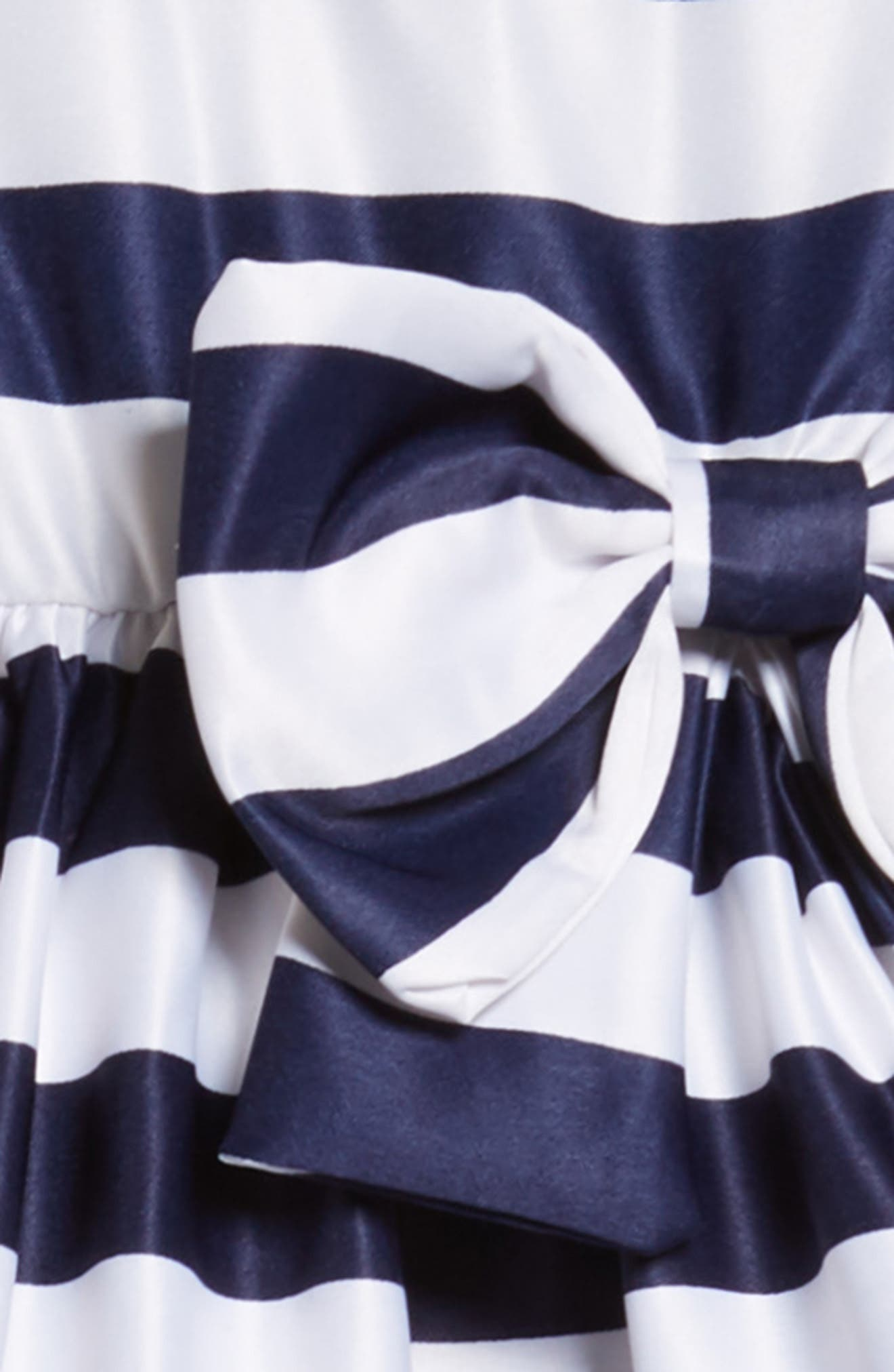 Tara Stripe Party Dress,                             Alternate thumbnail 3, color,                             416