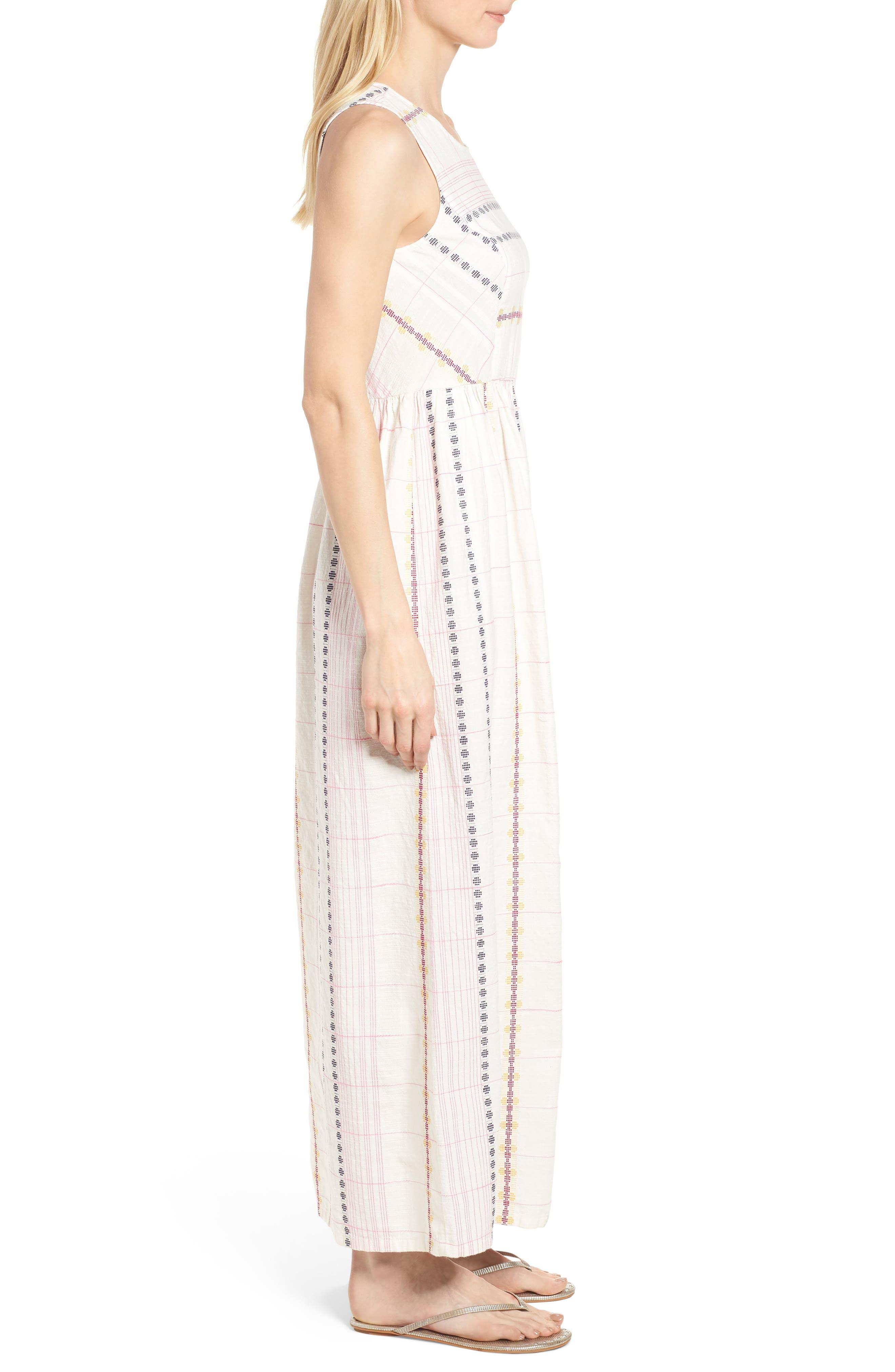 Smocked Back Maxi Dress,                             Alternate thumbnail 3, color,