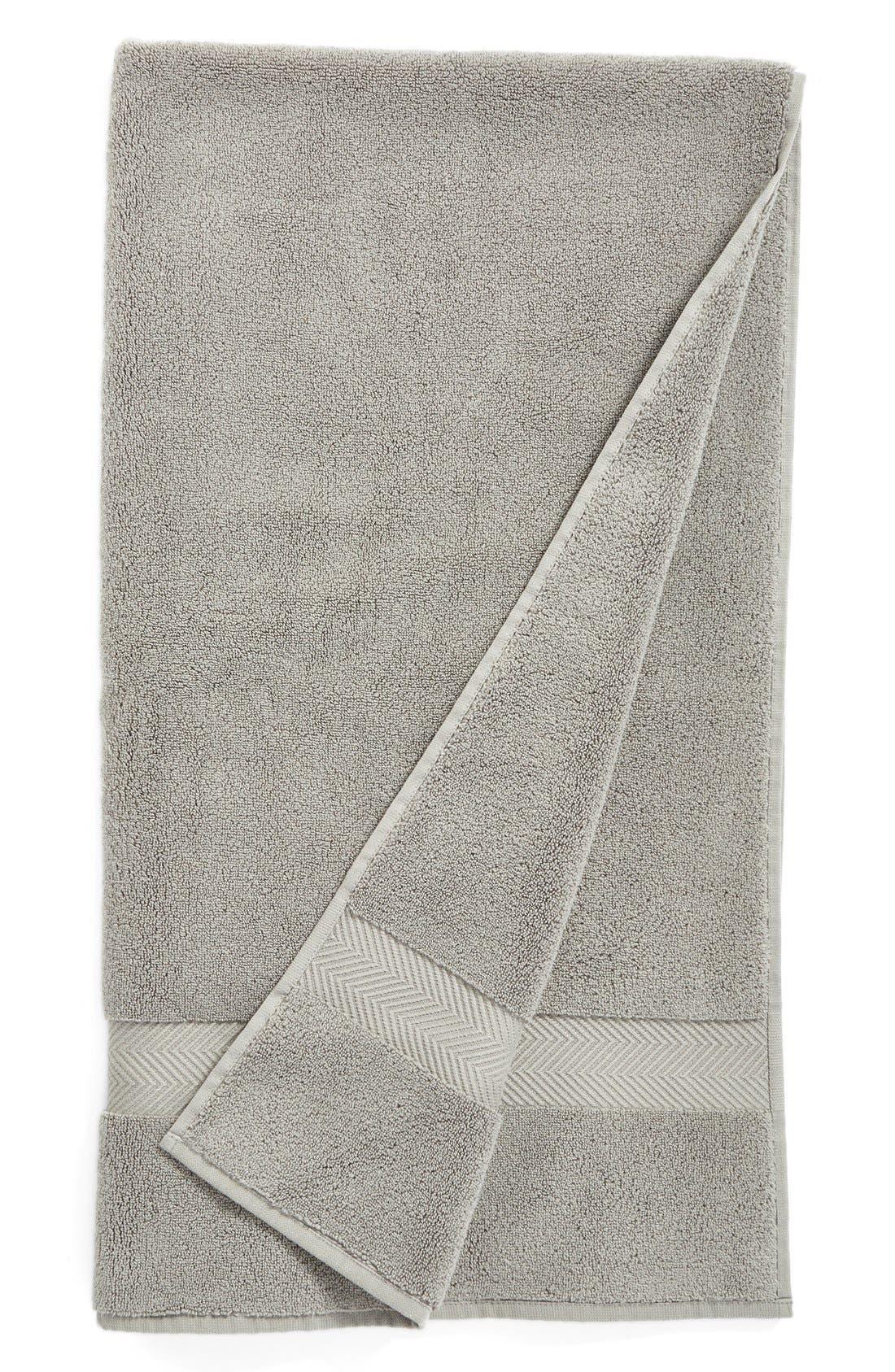 Hydrocotton Bath Towel,                         Main,                         color, GRAPHITE