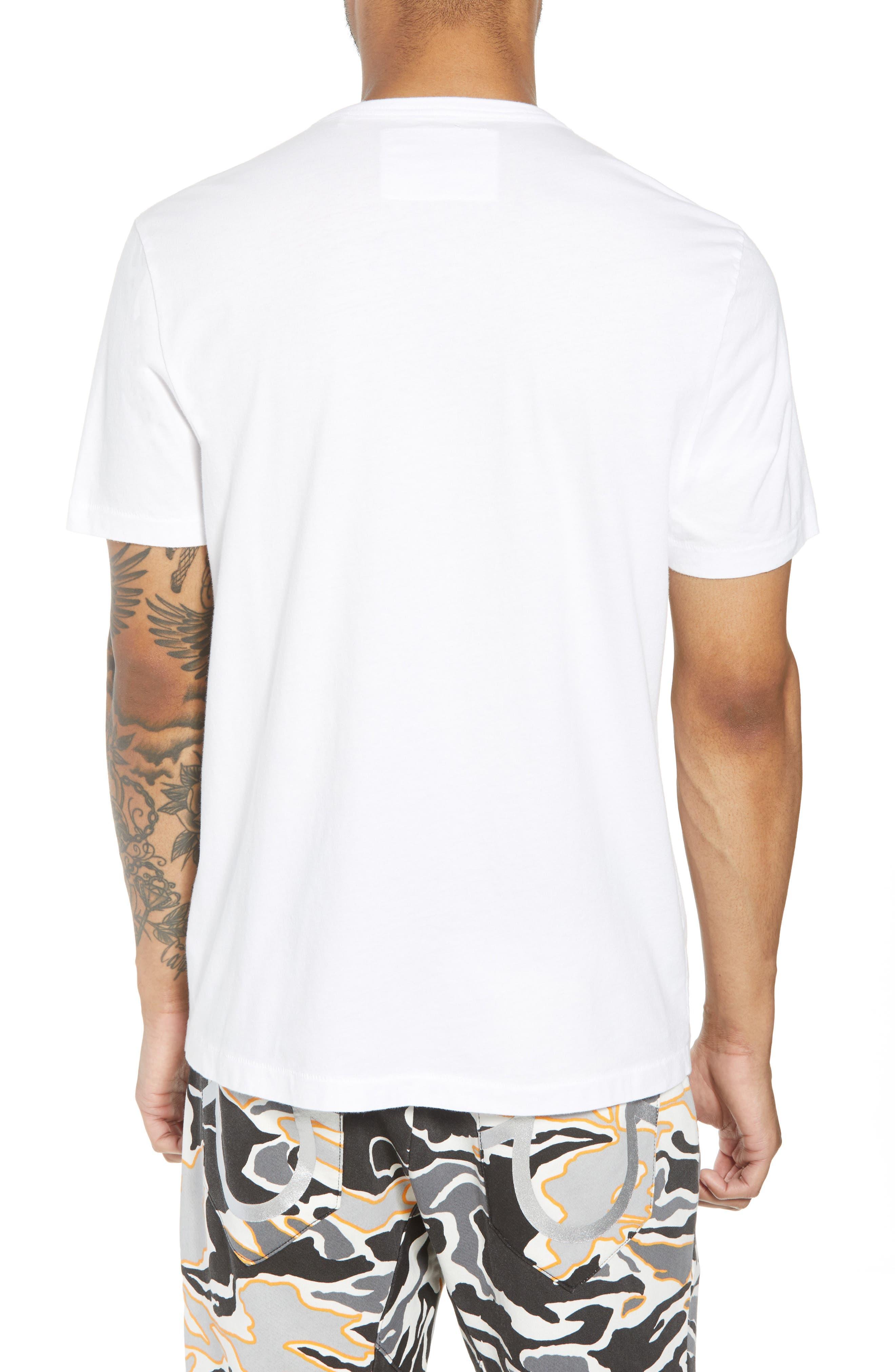 Gold Foil Logo T-Shirt,                             Alternate thumbnail 4, color,