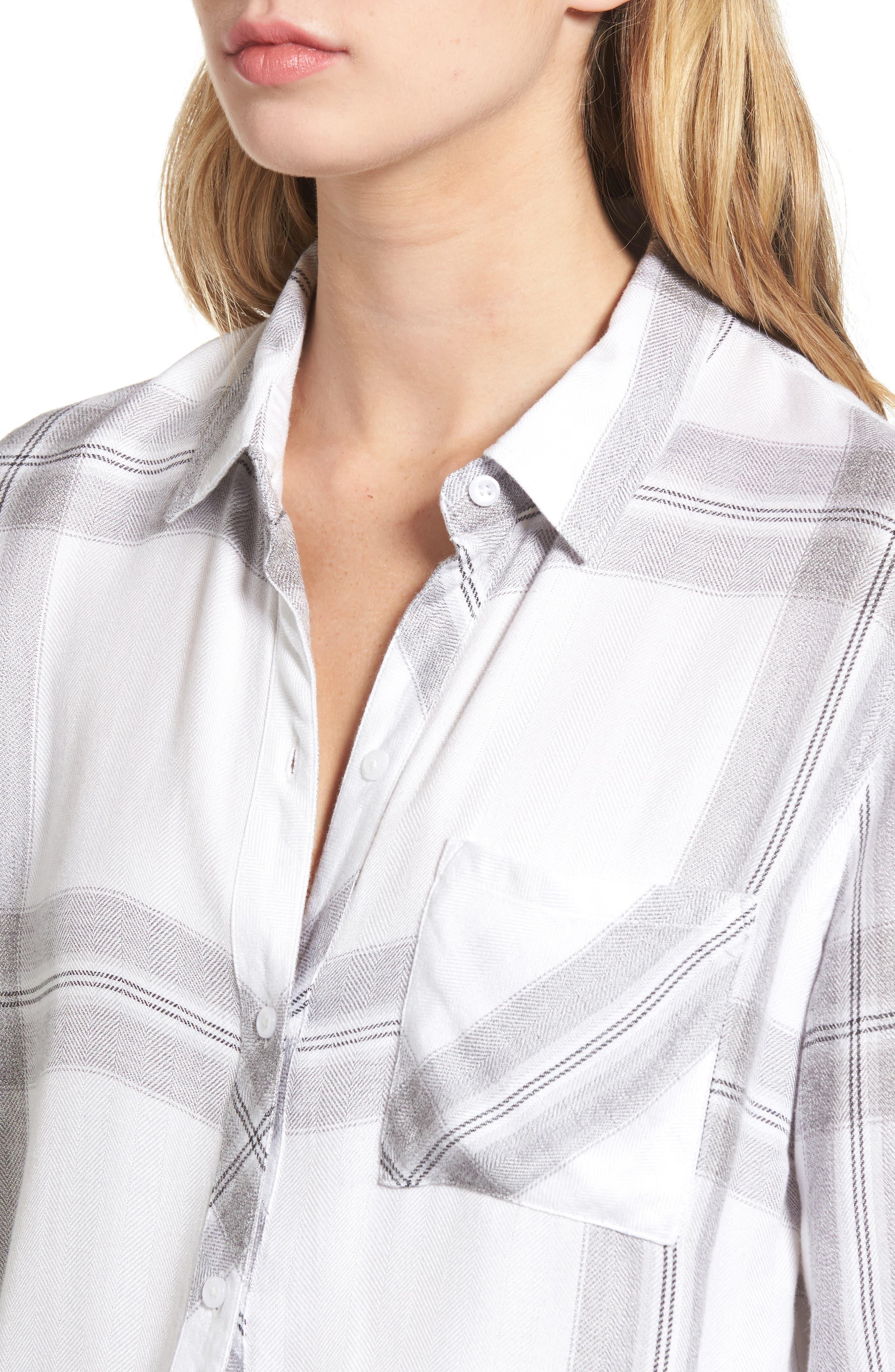 Hunter Plaid Shirt,                             Alternate thumbnail 500, color,