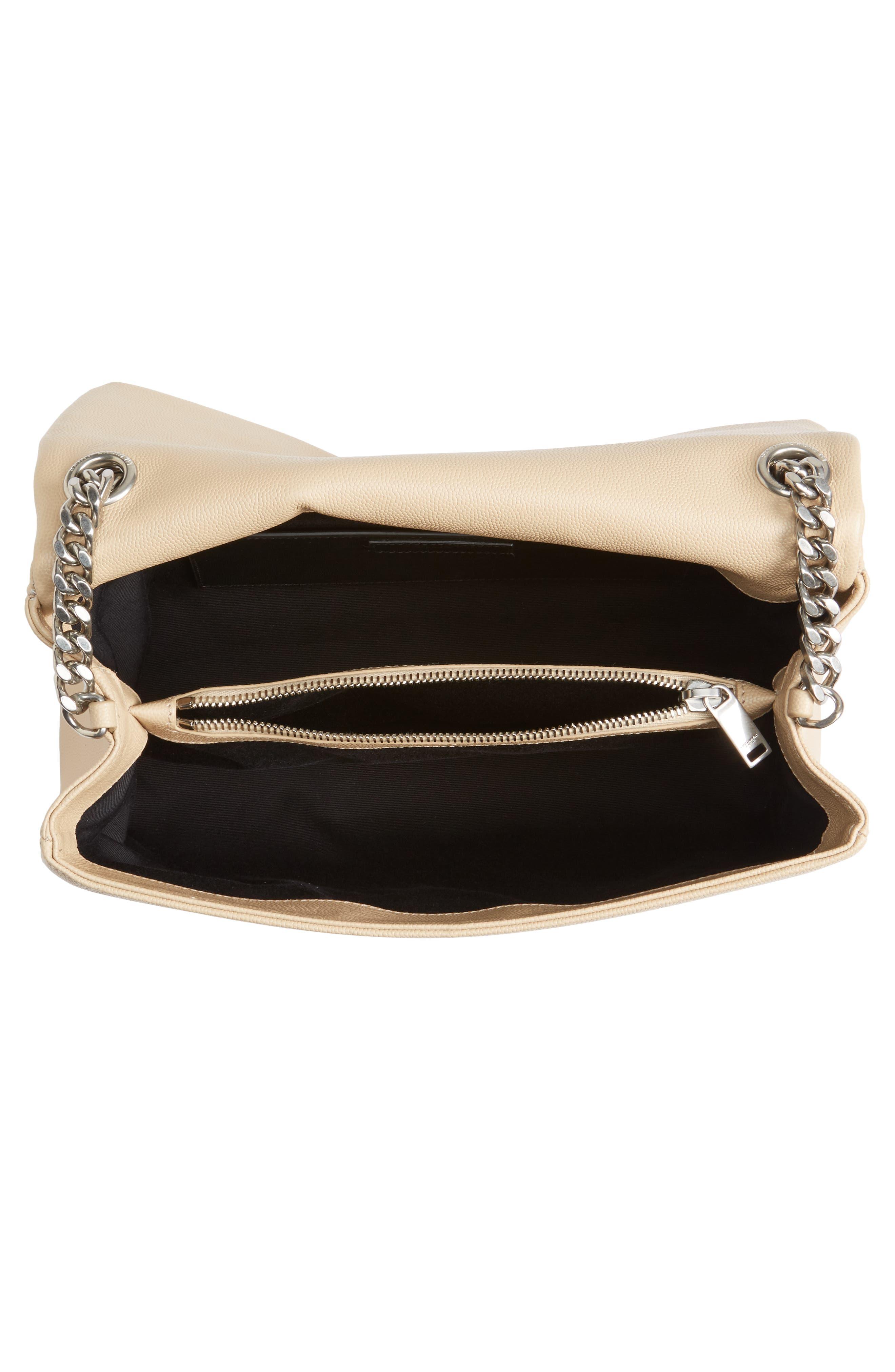 Medium West Hollywood Leather Shoulder Bag,                             Alternate thumbnail 12, color,
