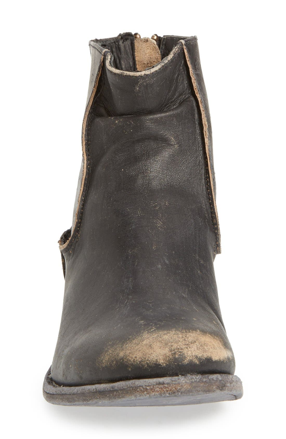 'Gerald' Distressed Bootie,                             Alternate thumbnail 4, color,