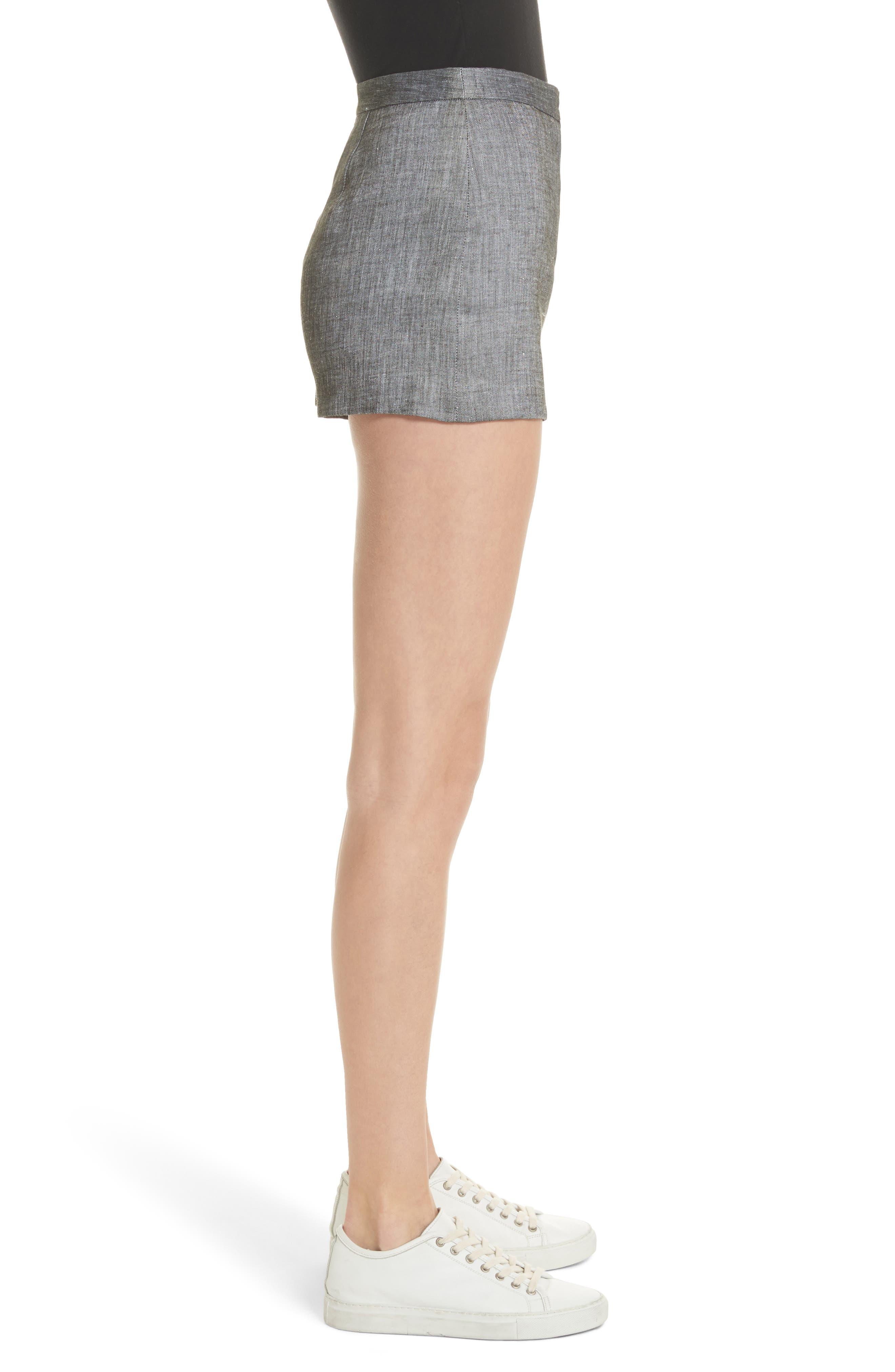 Trudee High Waist Shorts,                             Alternate thumbnail 3, color,                             309