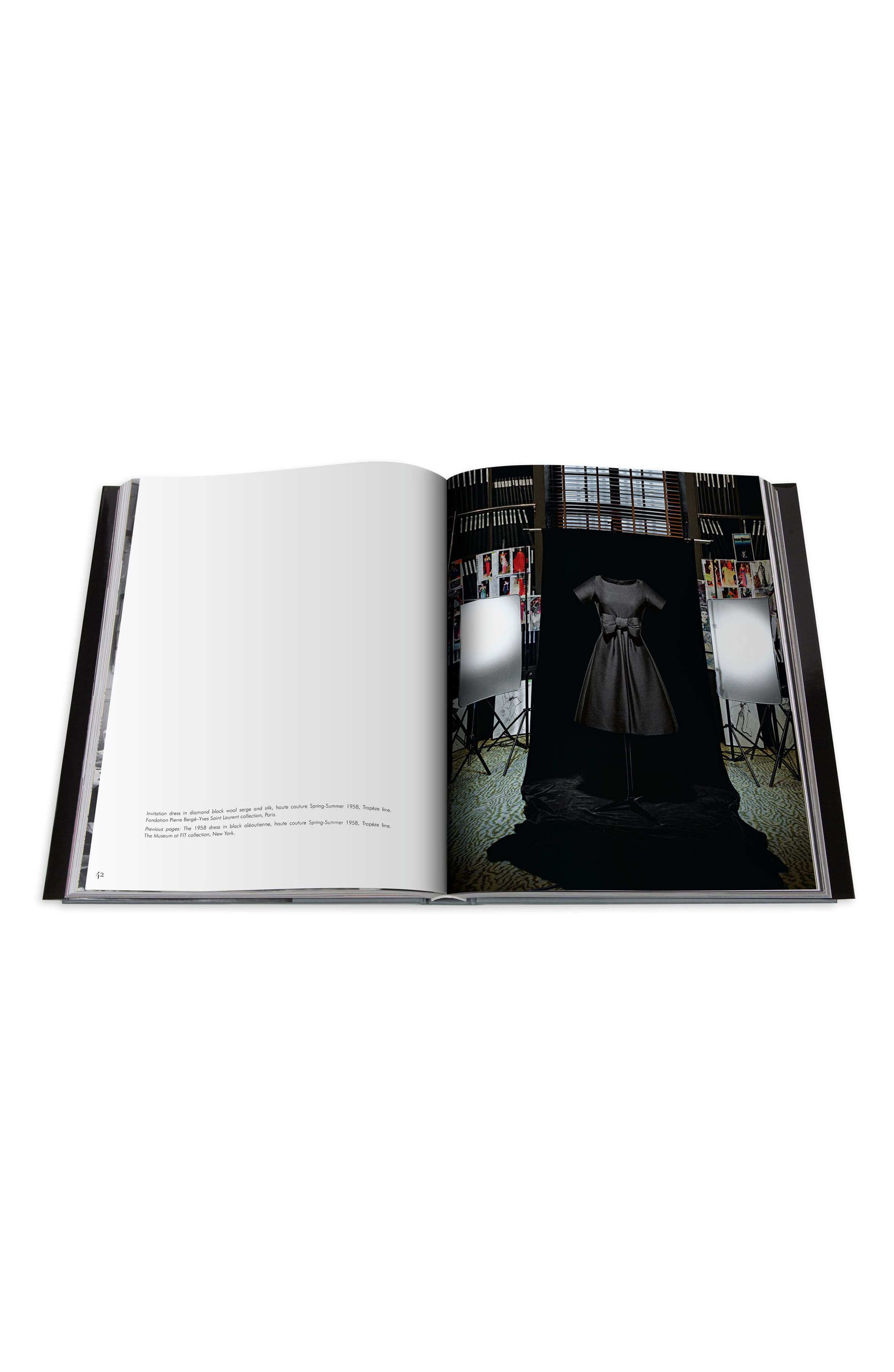 'Dior by Yves Saint Laurent' Book,                             Alternate thumbnail 5, color,                             GREY